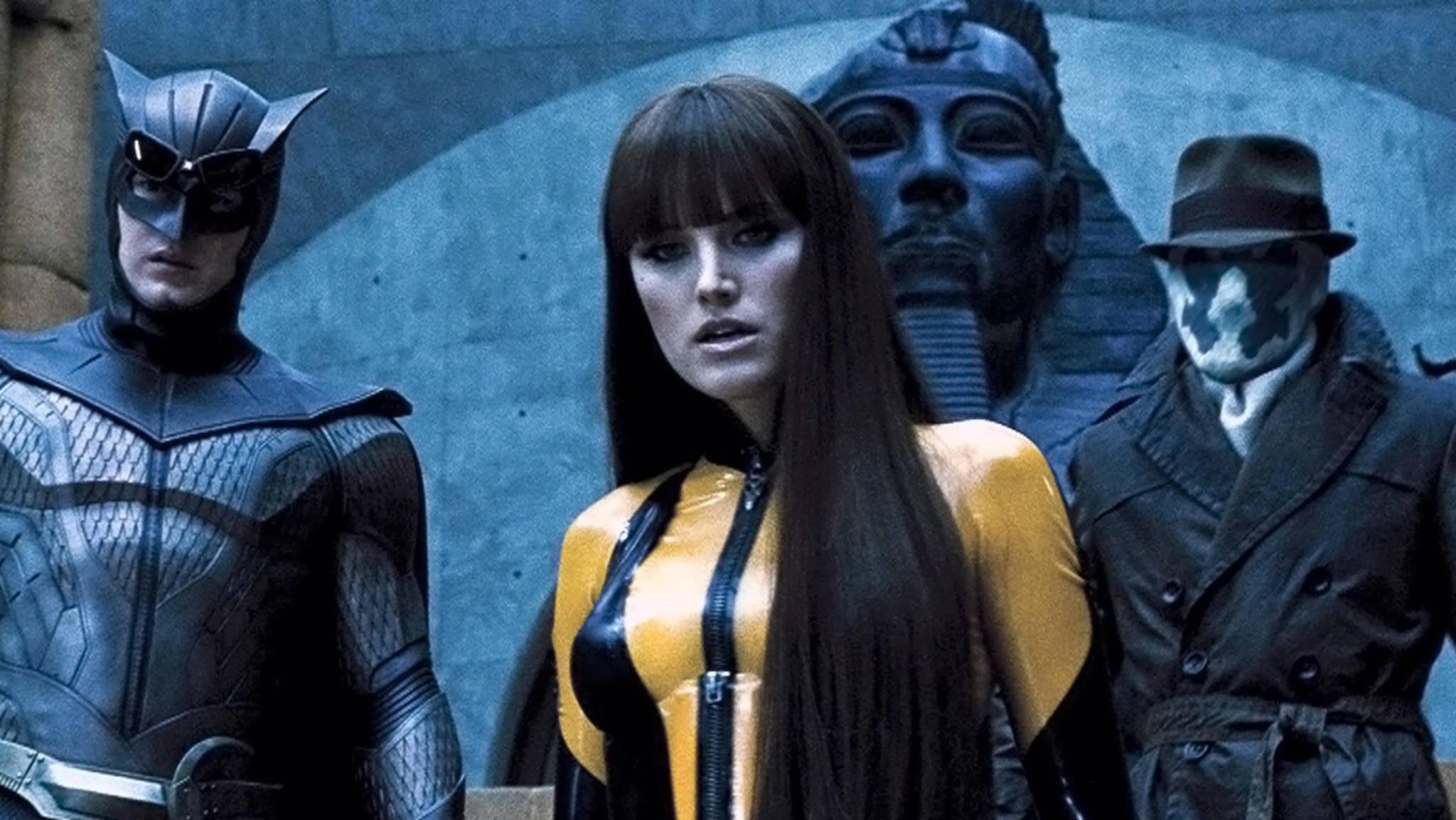 """Ob wir die alten """"Watchmen""""-Helden in der neuen HBO-Serie wohl wieder zu sehen bekommen werden?"""
