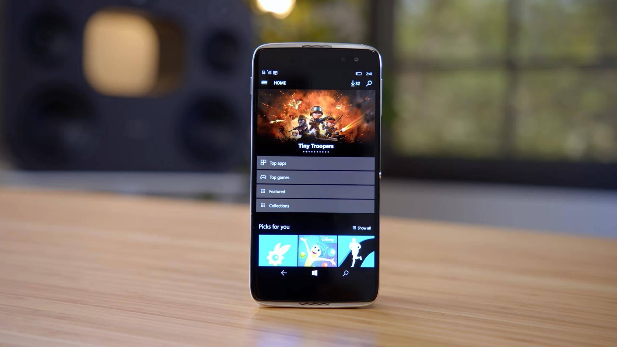 Windows 10 Mobile bekommt offenbar noch ein Update.
