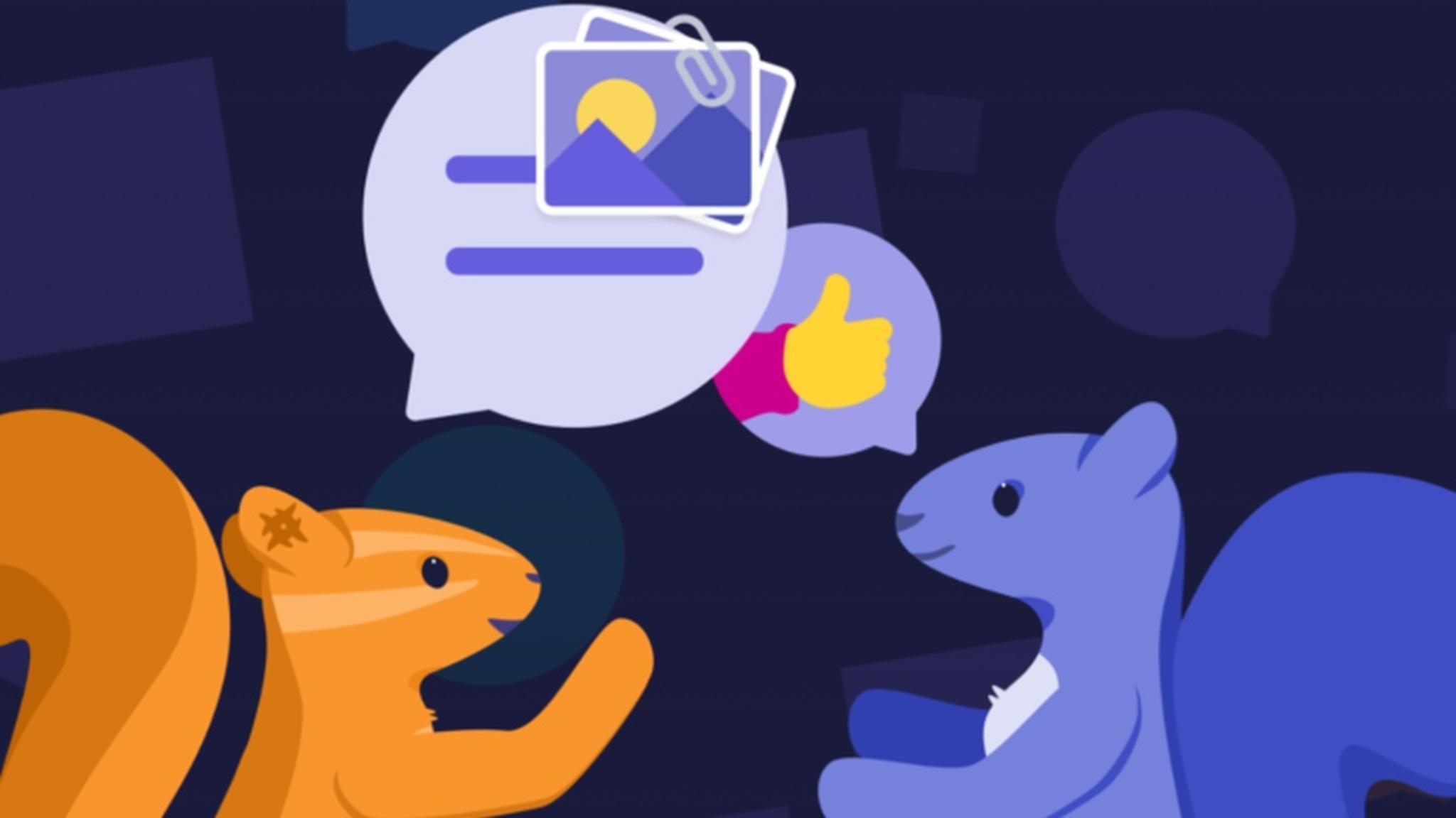 Yahoos Gruppen-Chat-App Squirrel setzt auf Einladungen.