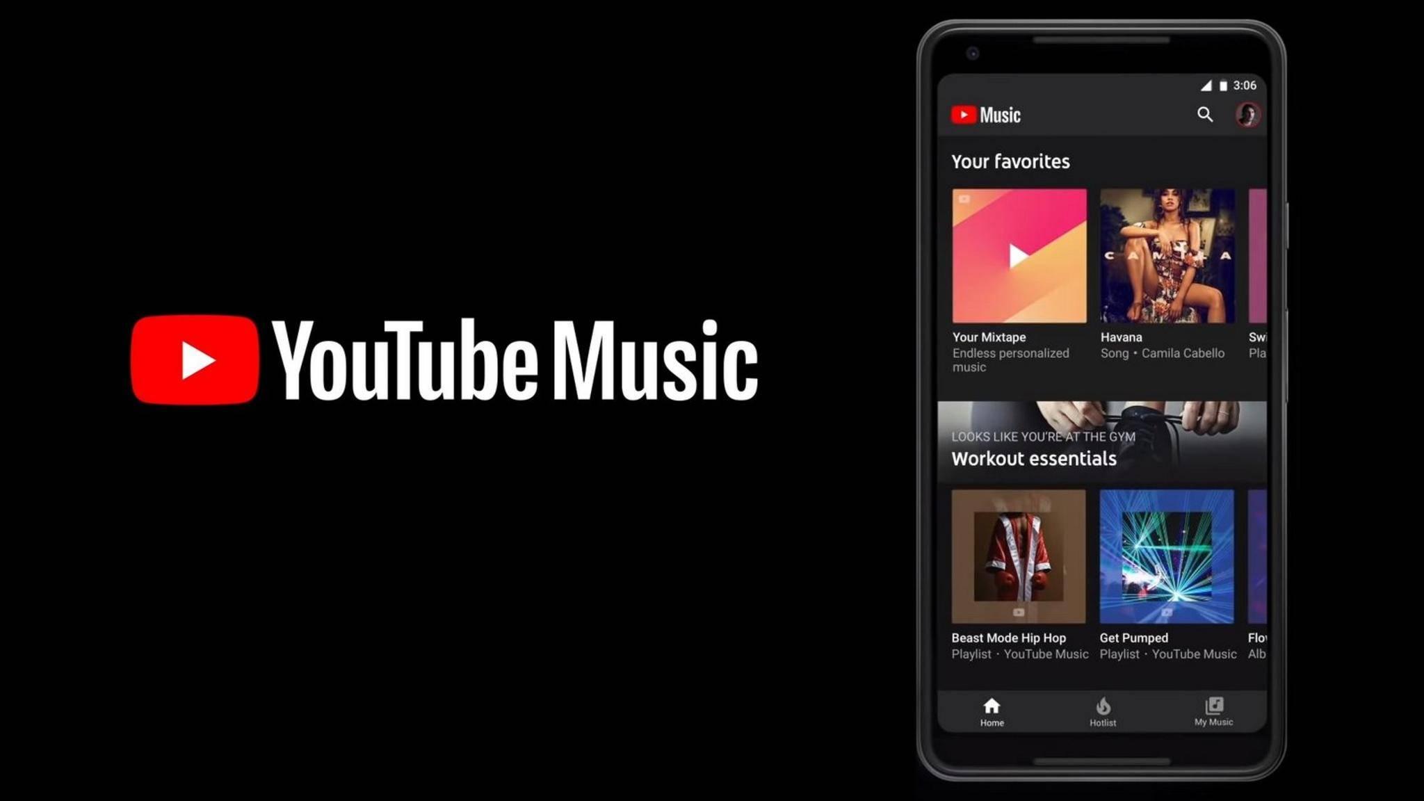 YouTube Music ist ab sofort in Deutschland verfügbar.