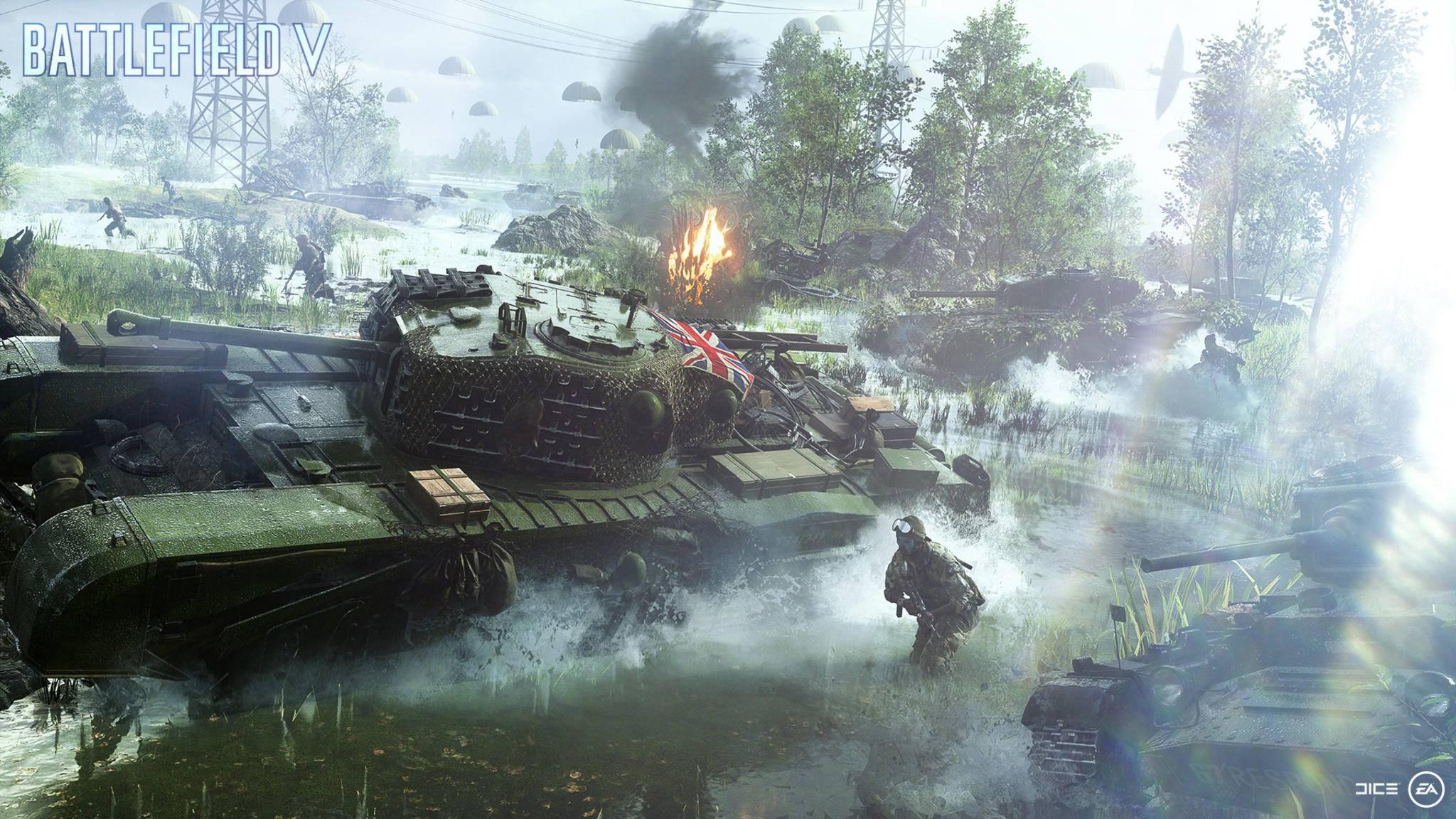"""""""Battlefield 5"""" soll genügend Platz für große Schlachten bieten."""