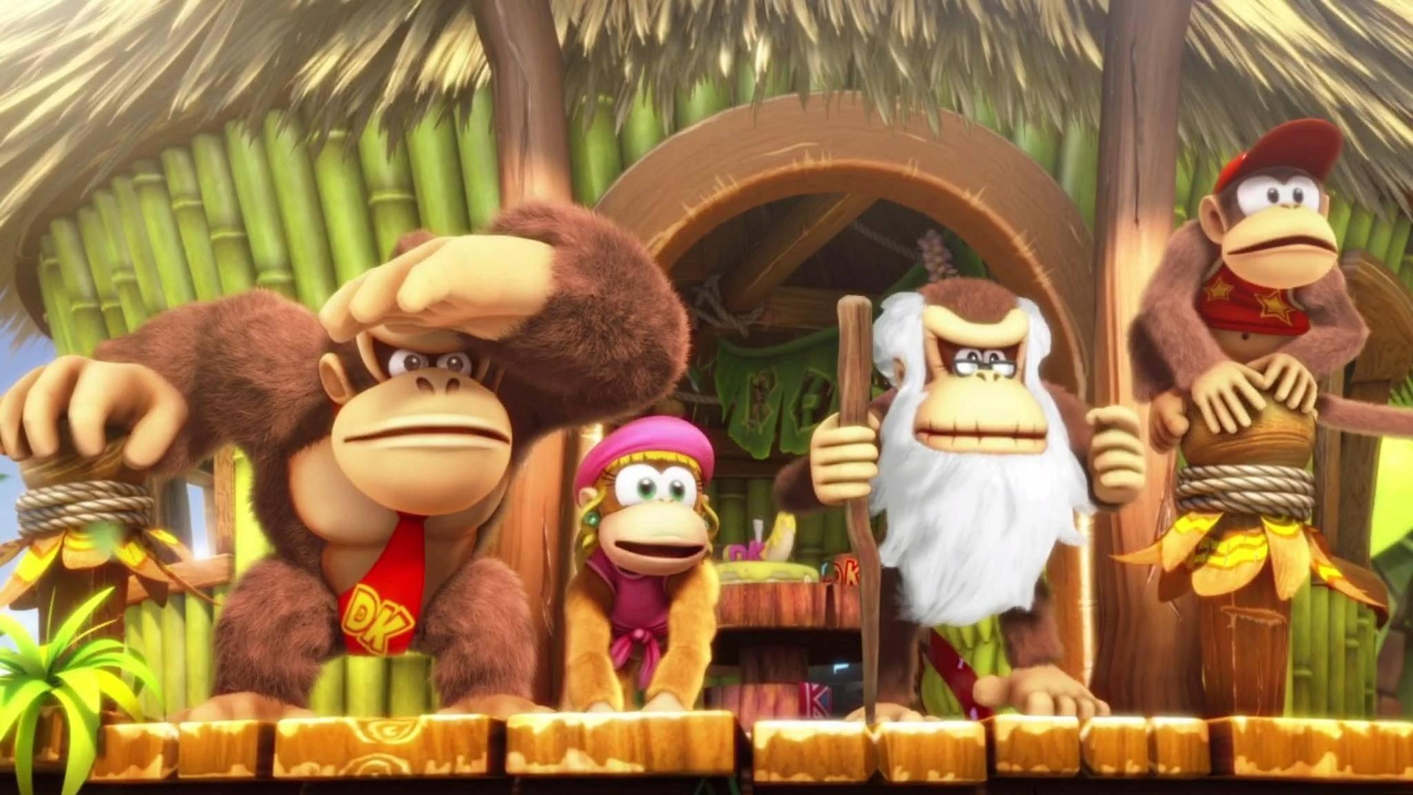 """""""Donkey Kong: Tropical Freeze"""" ist nach der Wii U auch auf der NIntendo Switch erschienen. Wir erklären die Unterschiede."""