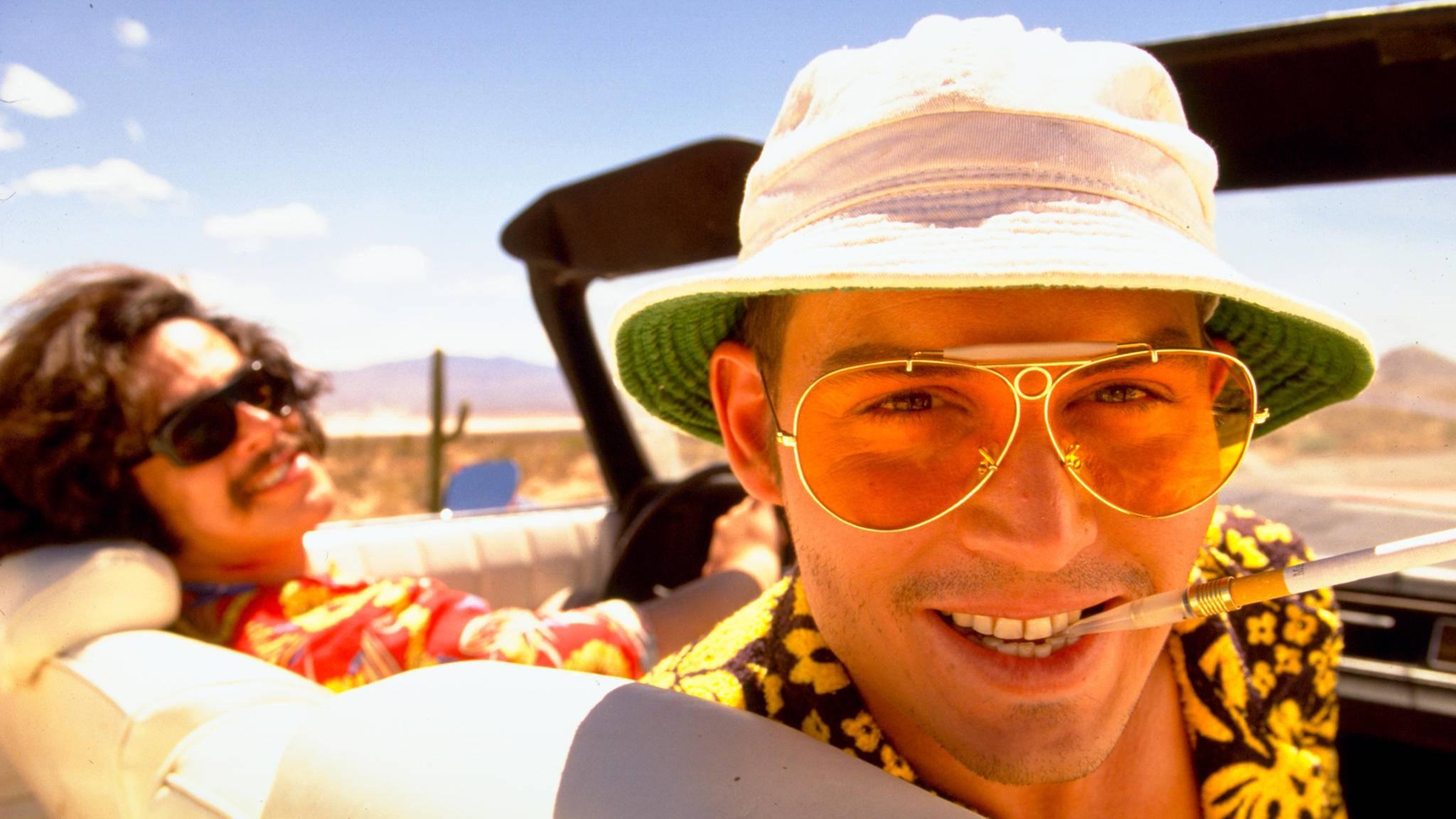 """Ein Drogen-Trip der ganz besonderen  Art ist auch in """"Fear and Loathing in Las Vegas"""" zu sehen."""