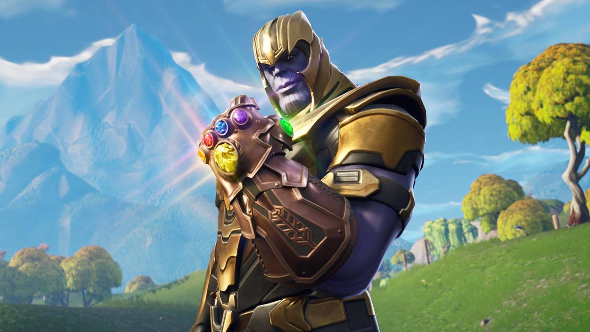 Thanos und sein Handschuh – ein (fast) unschlagbares Team.