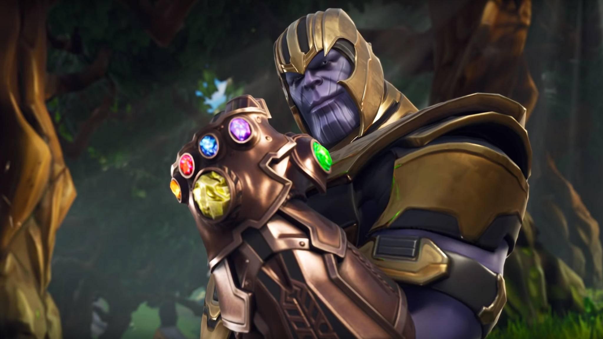 """Letzte Runde: Thanos verlässt """"Fortnite: Battle Royale""""."""