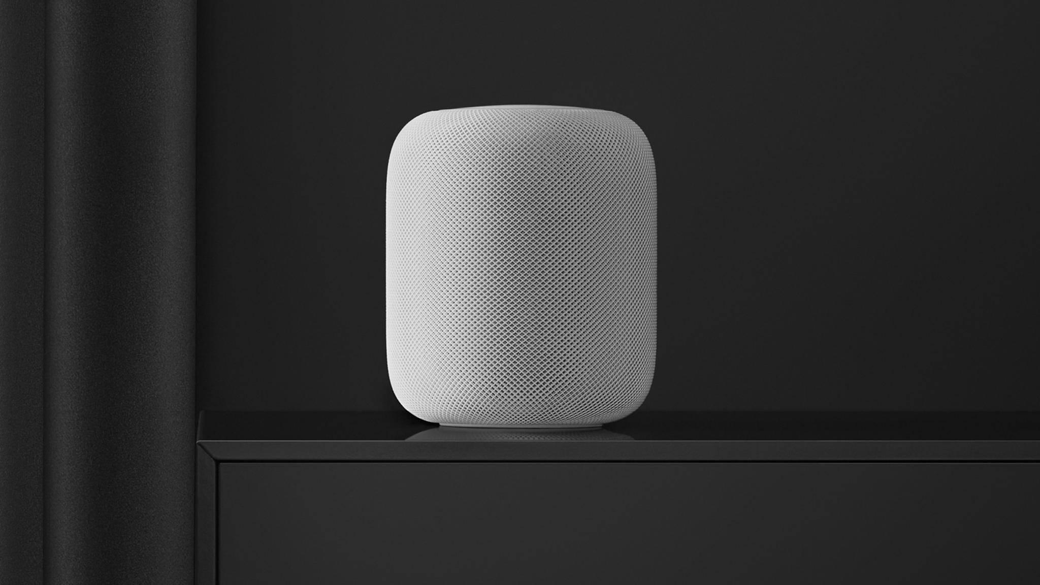 Apple spendiert dem HomePod neue Funktionen.