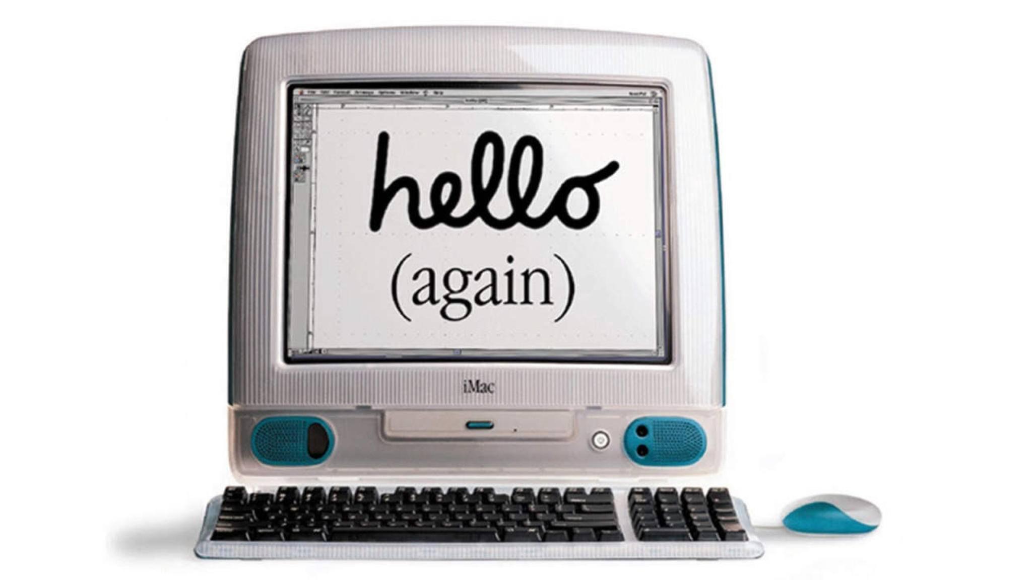 Mit dem iMac gelang Apple vor 20 Jahren der erhoffte Befreiungsschlag.