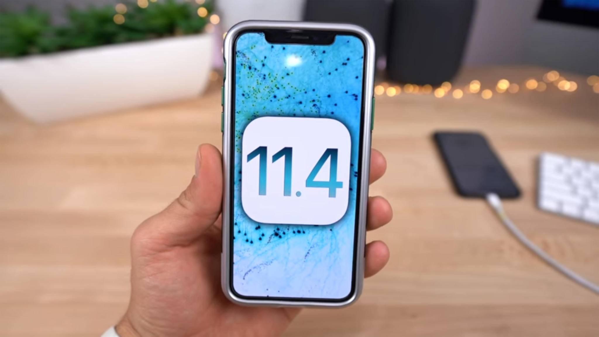 iOS 11.4 bringt nicht nur neue Features, sondern auch Fehlerbehebungen für das iPhone und iPad.