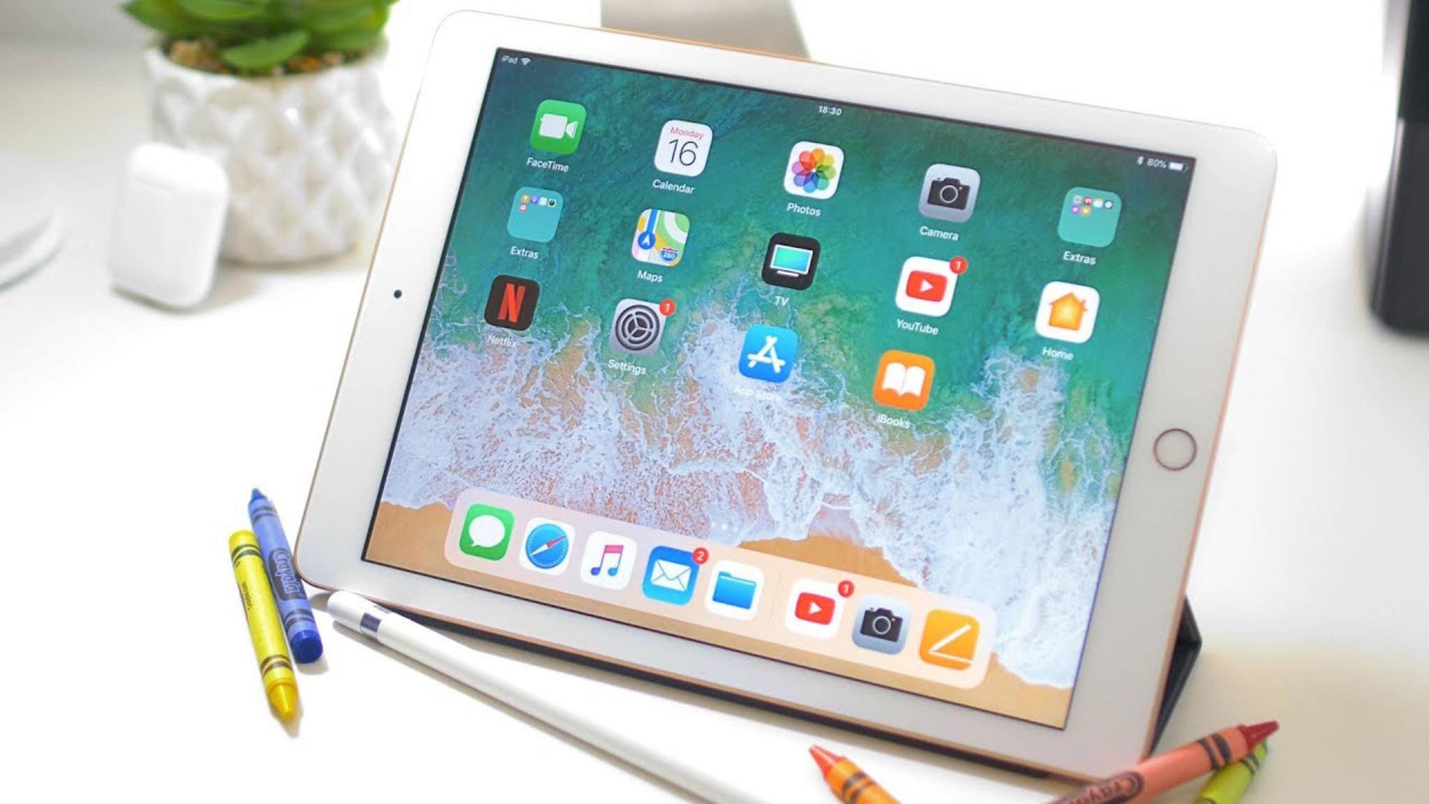Mit iOS 12 wird auch der Zugriff auf das Dock des iPads deutlich komfortabler.