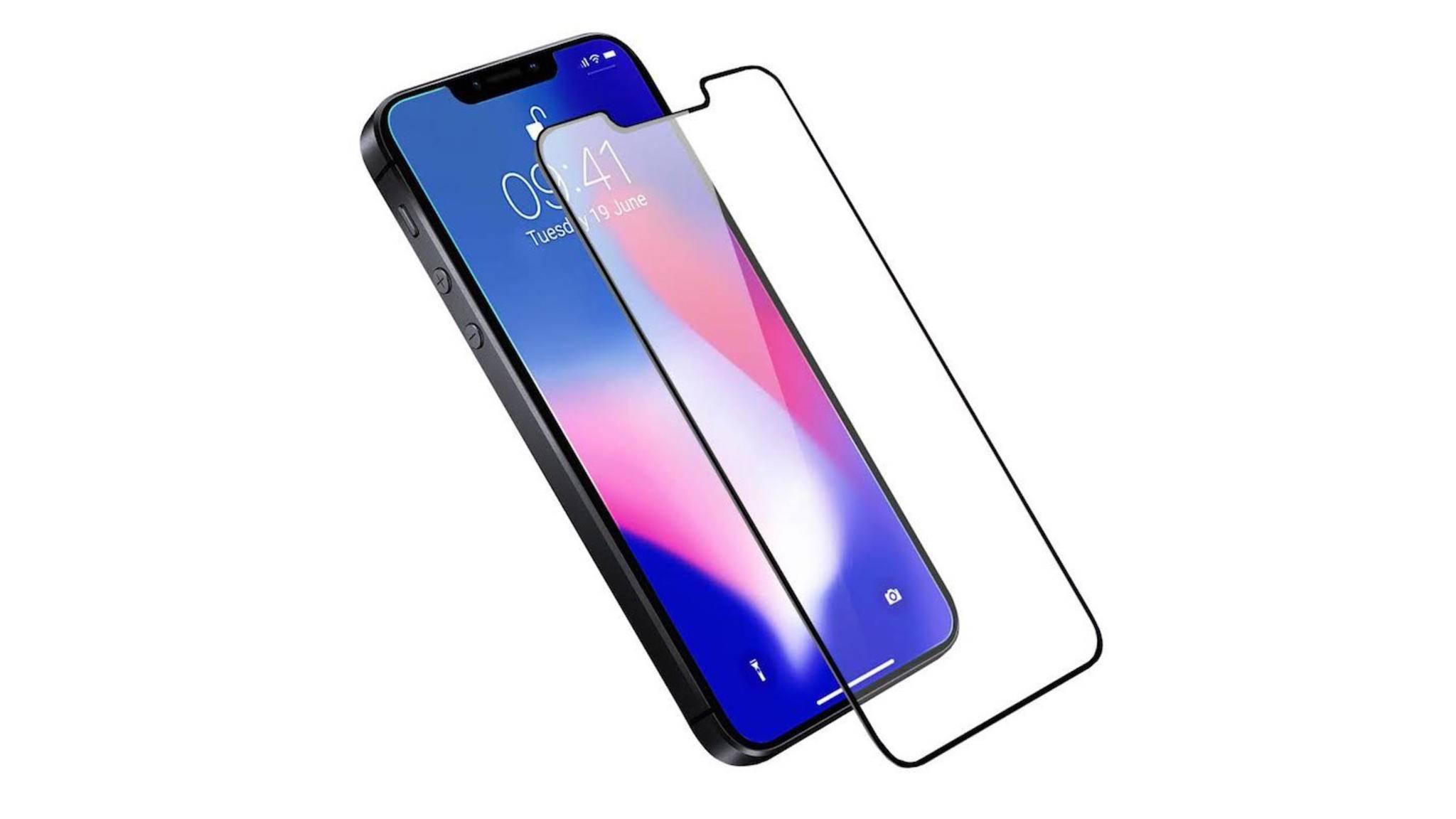 Mit Notch, aber ohne Home-Button und Face ID: So soll das iPhone SE 2 laut Zubehör-Hersteller aussehen.