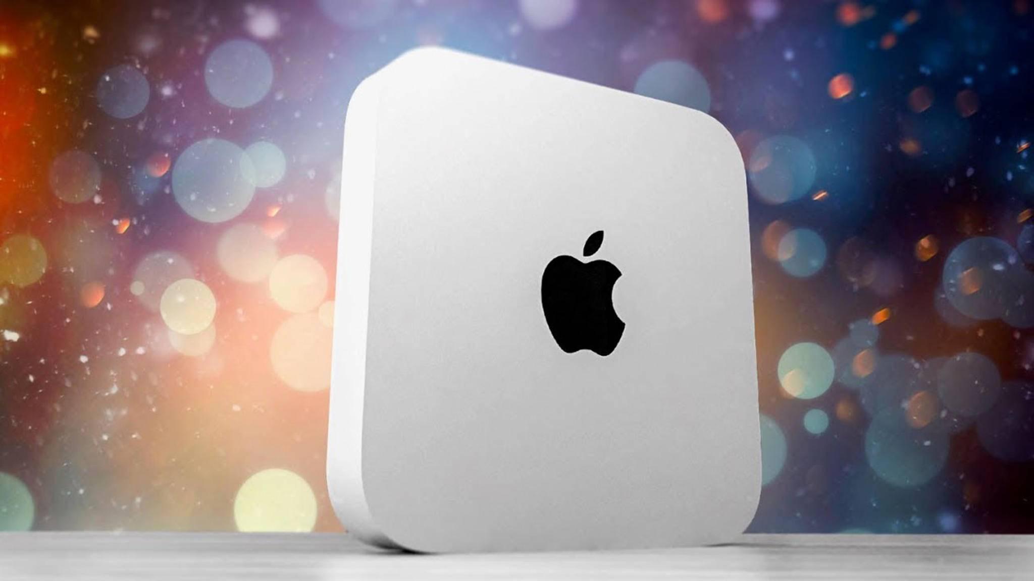Angeblich steht bald ein Upgrade für den Mac mini an.
