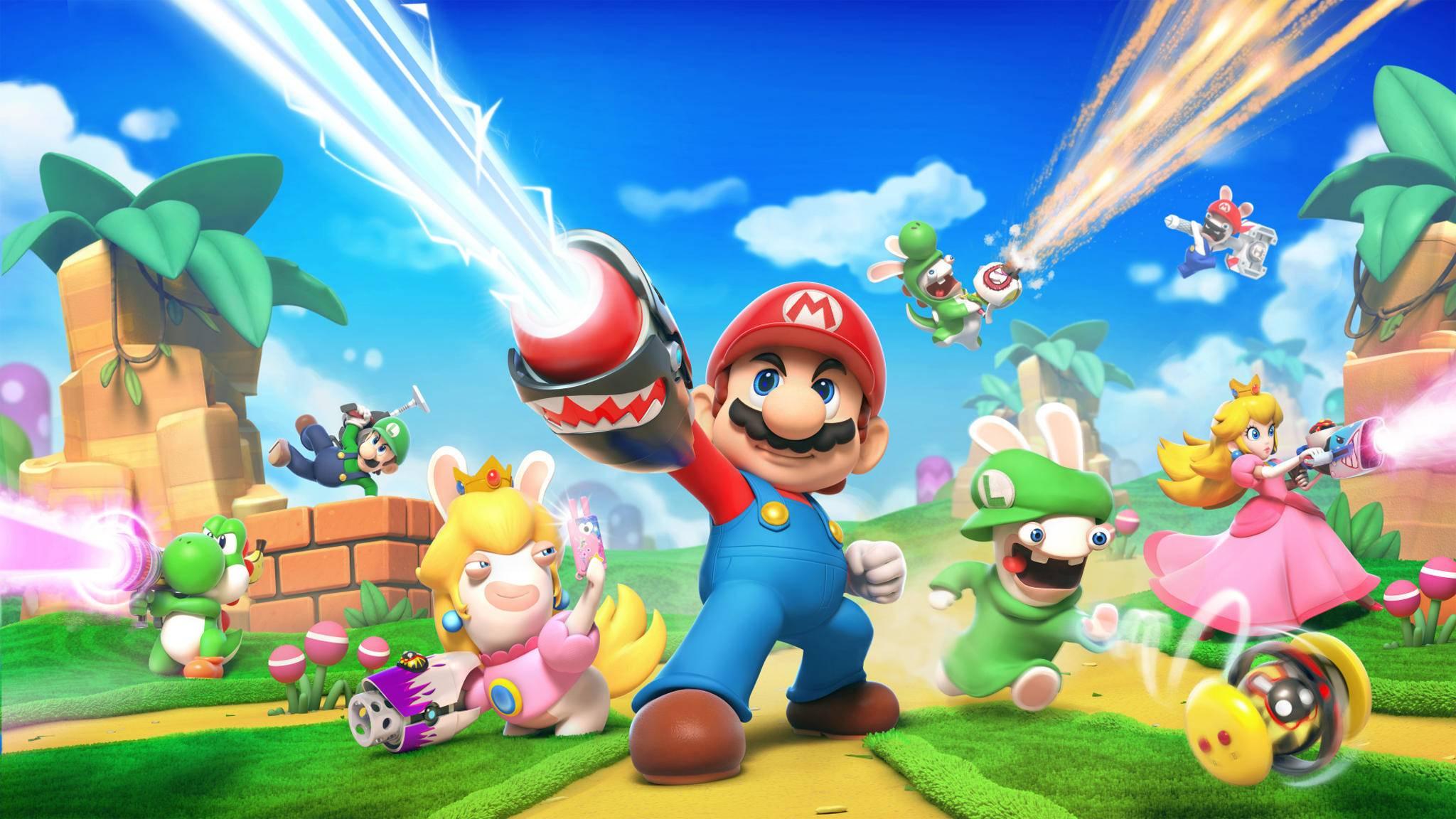 """""""Mario + Rabbids: Kingdom Battle"""" klang erst wie eine Schnapsidee, entpuppte sich dann aber als ziemlich gutes Spiel."""