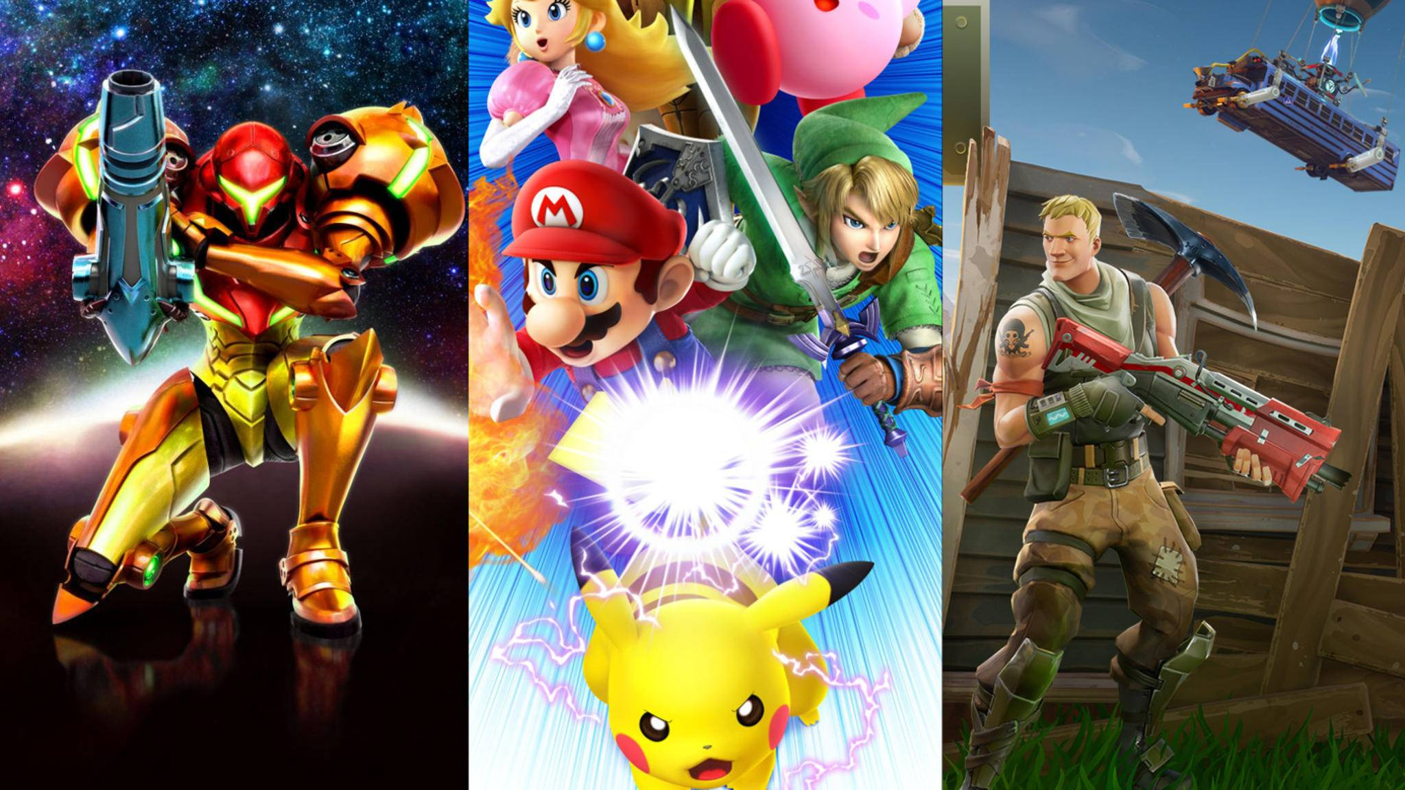 """""""Metroid Prime"""", """"Super Smash Bros."""" – und vielleicht sogar """"Fortnite""""? Nintendo könnte bei der E3 2018 einige Hochkaräter präsentieren."""