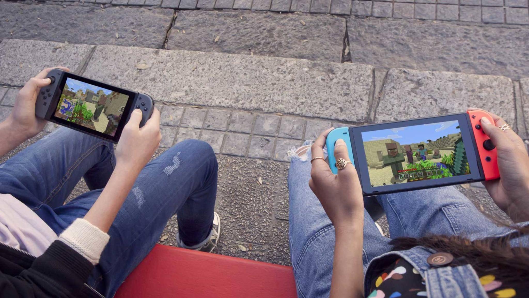Geht mehr raus! Eine Mini-Variante der Switch soll vor allem fürs Spielen unterwegs gedacht sein.