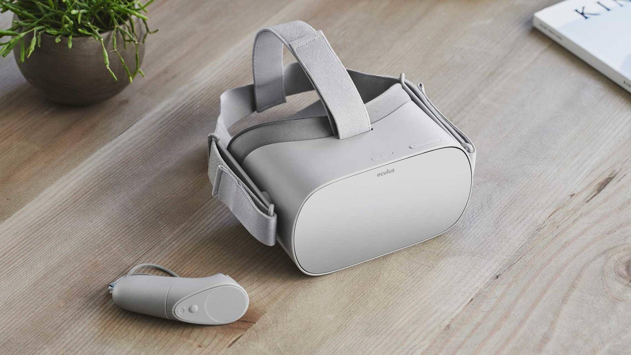 Oculus Go: Das Standalone-Headset ist relativ günstig.