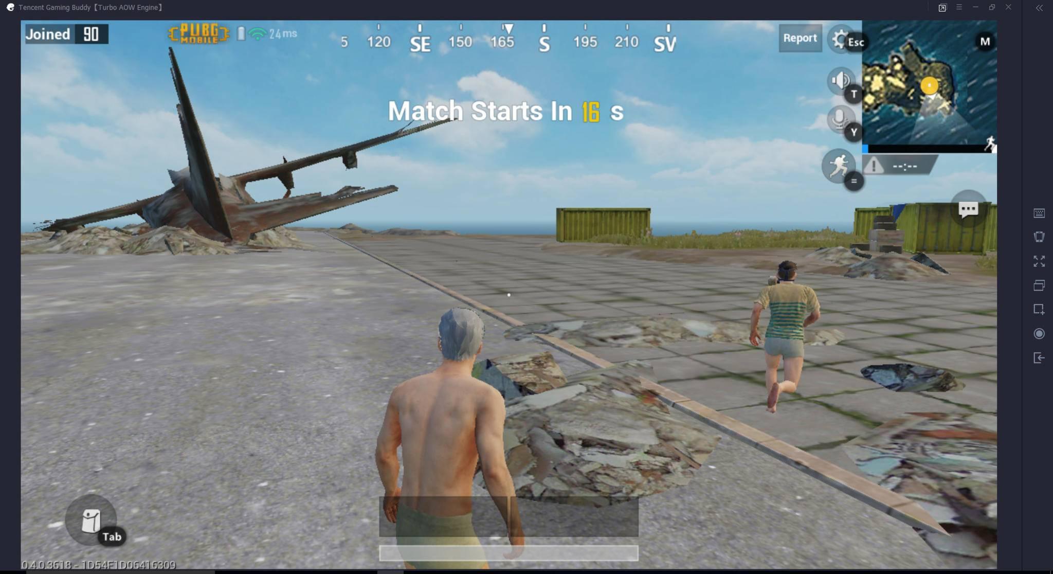 ... dass Du in der Lobby und im eigentlichen Spiel nur mit Spielern auf derselben Plattform zu tun hast.