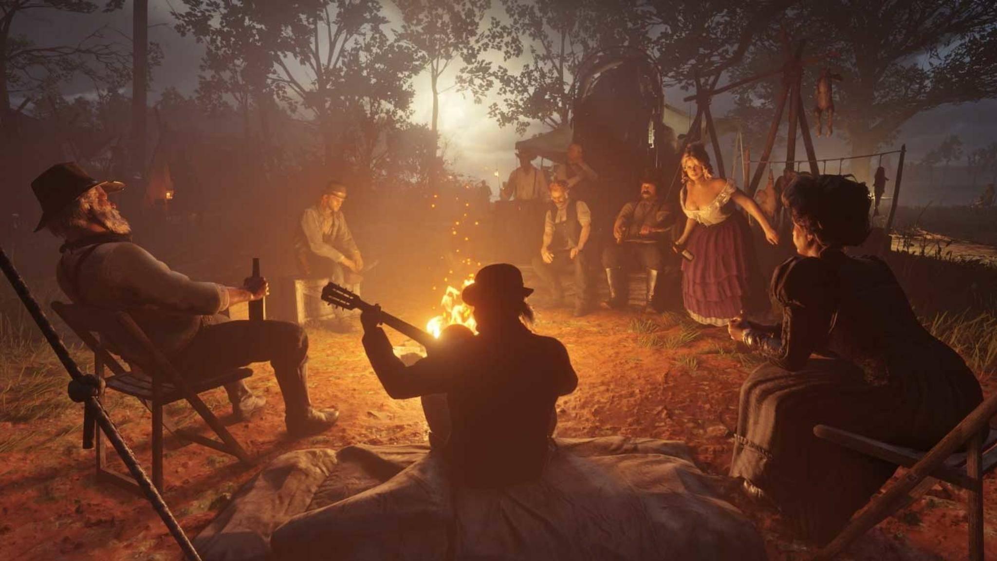 """Von wegen Idylle: Fans von """"Red Dead Redemption 2"""" vermuten ein Downgrade!"""