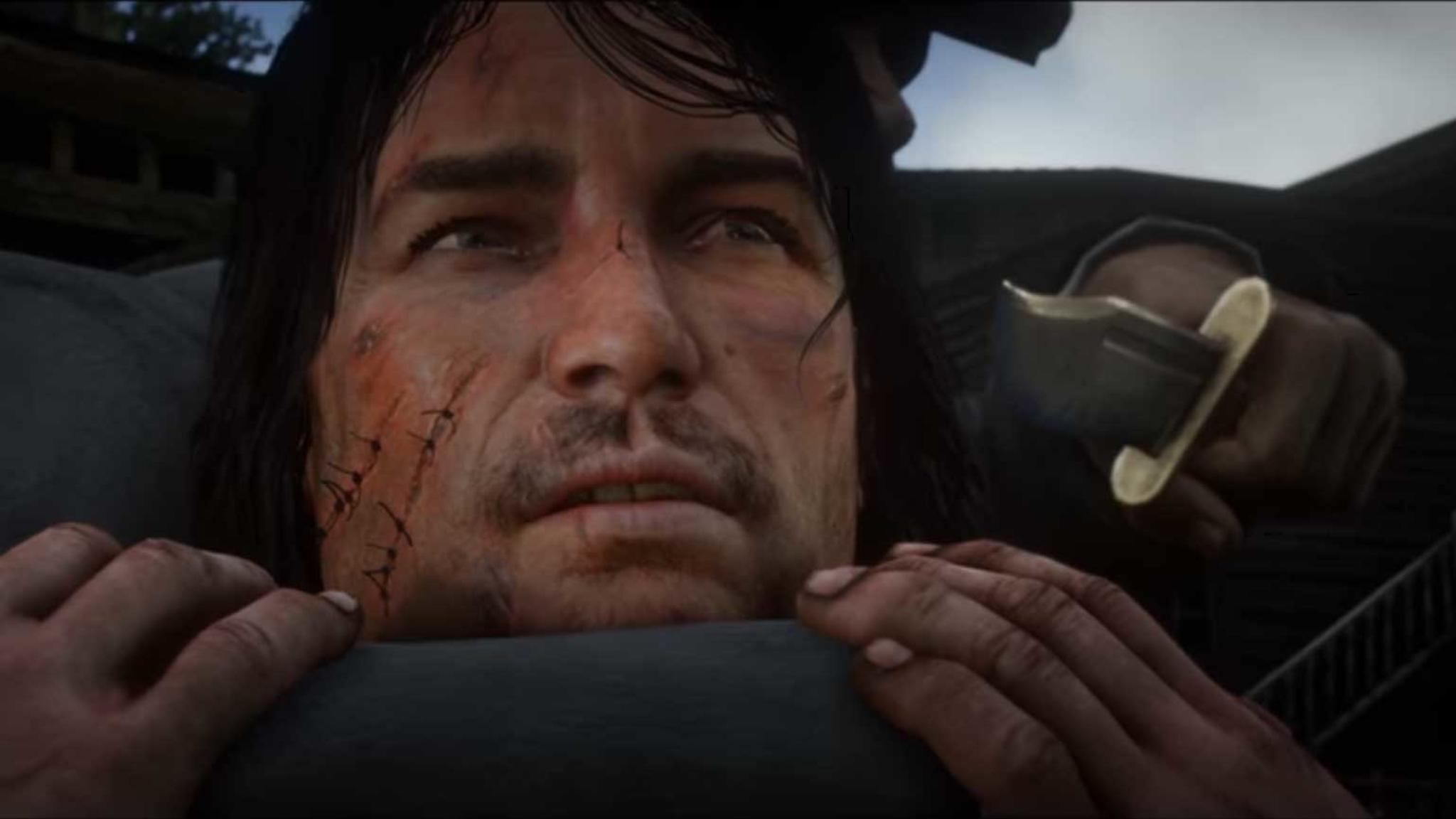 """In """"Red Dead Redemption 2"""" muss John Marston ganz schön leiden. Im Vorgänger ergeht es ihm nicht besser."""