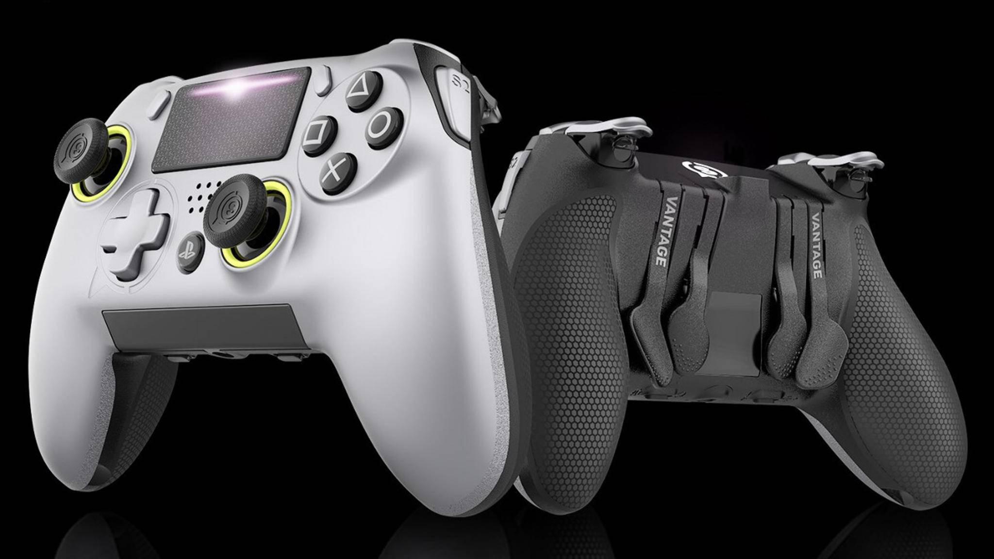 Das Design dieses neuen Pro-Controllers für die PS4 erscheint vertraut...