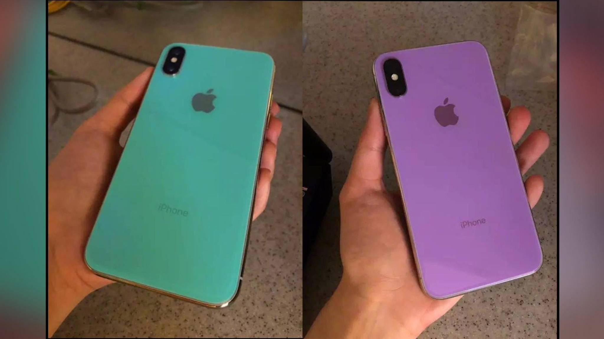 Sehen wir hier tatsächlich den ersten Leak zum iPhone X (2018)?