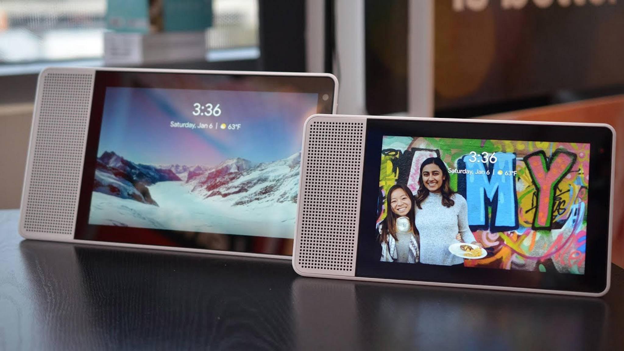 Smart Displays, etwa von Lenovo oder LG, werden auf Android Things setzen.
