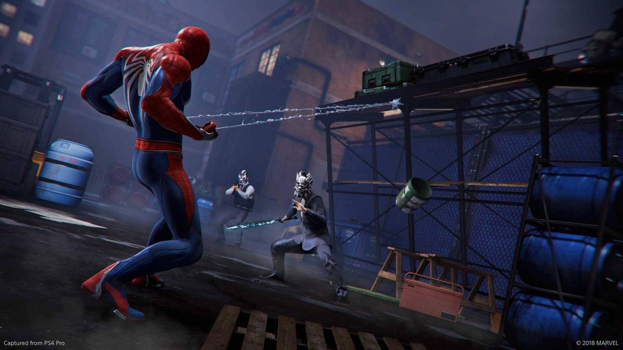 """""""Pfützen-Gate"""": In """"Marvel's Spider-Man"""" gibt es jetzt genügend Wasser für alle."""