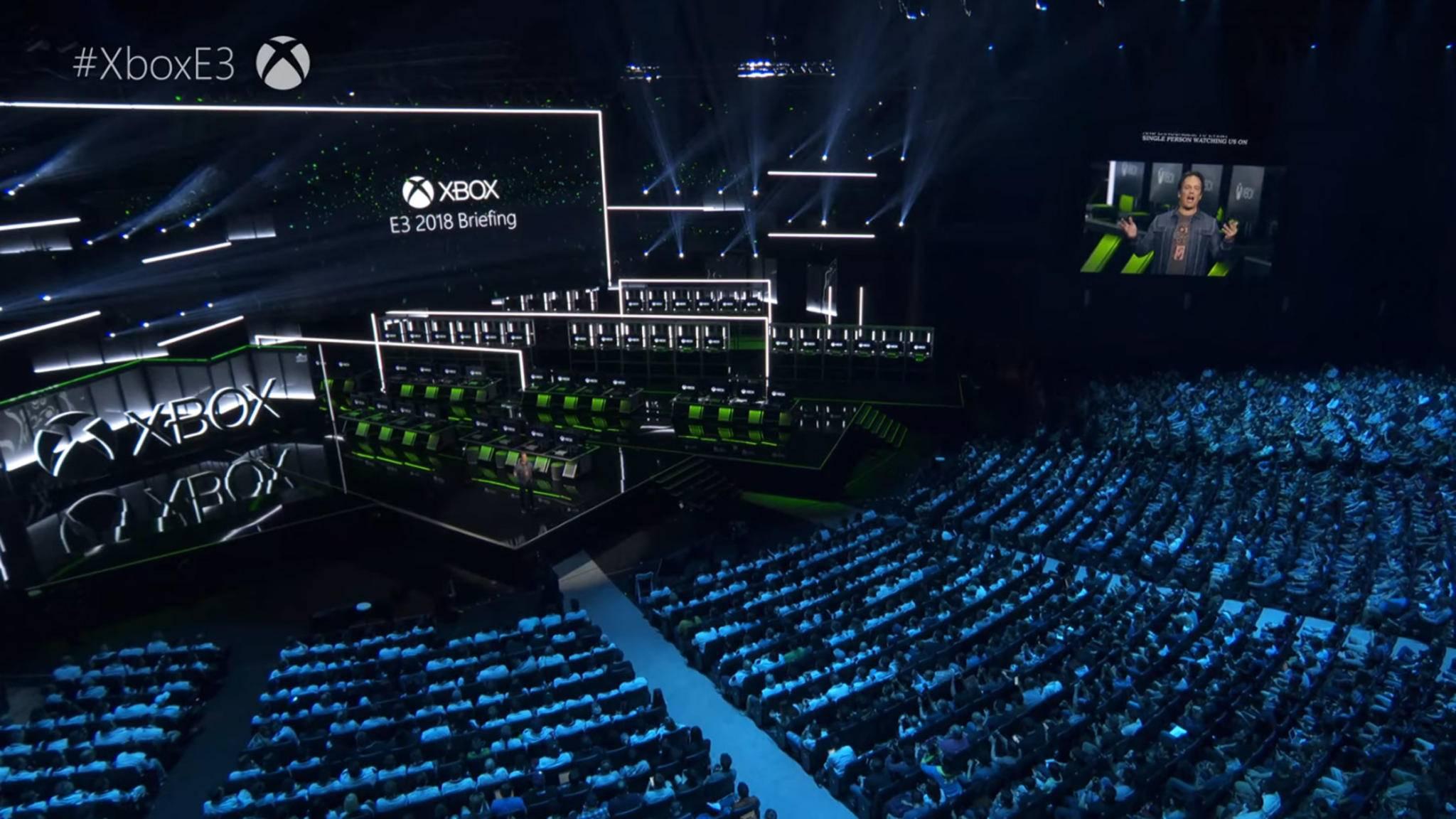Xbox-Chef Phil Spencer präsentierte die Neuheiten in Los Angeles.