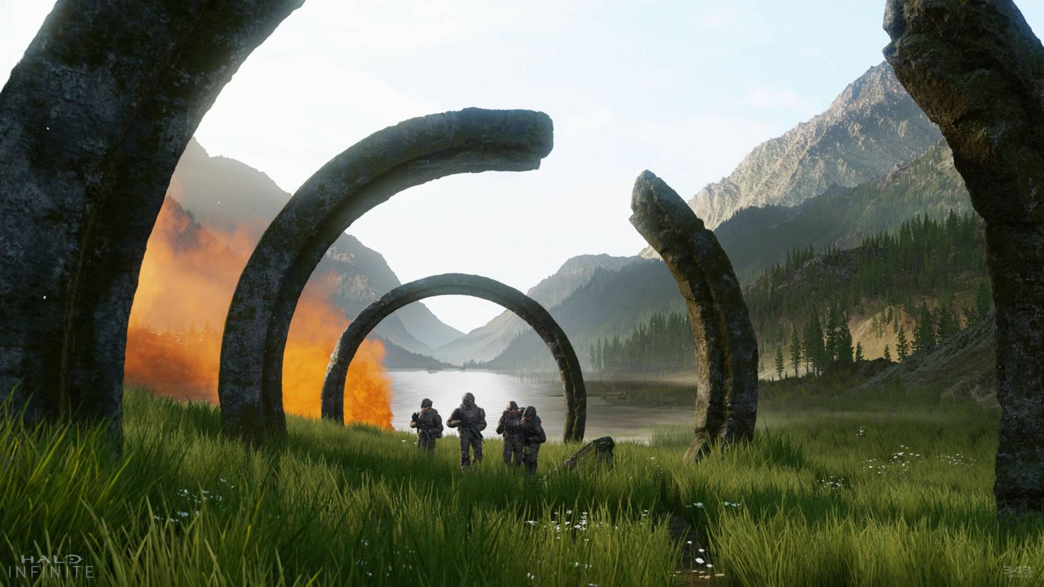 """Wird """"Halo Infinite"""" ein Shooter in einer Open-World?"""