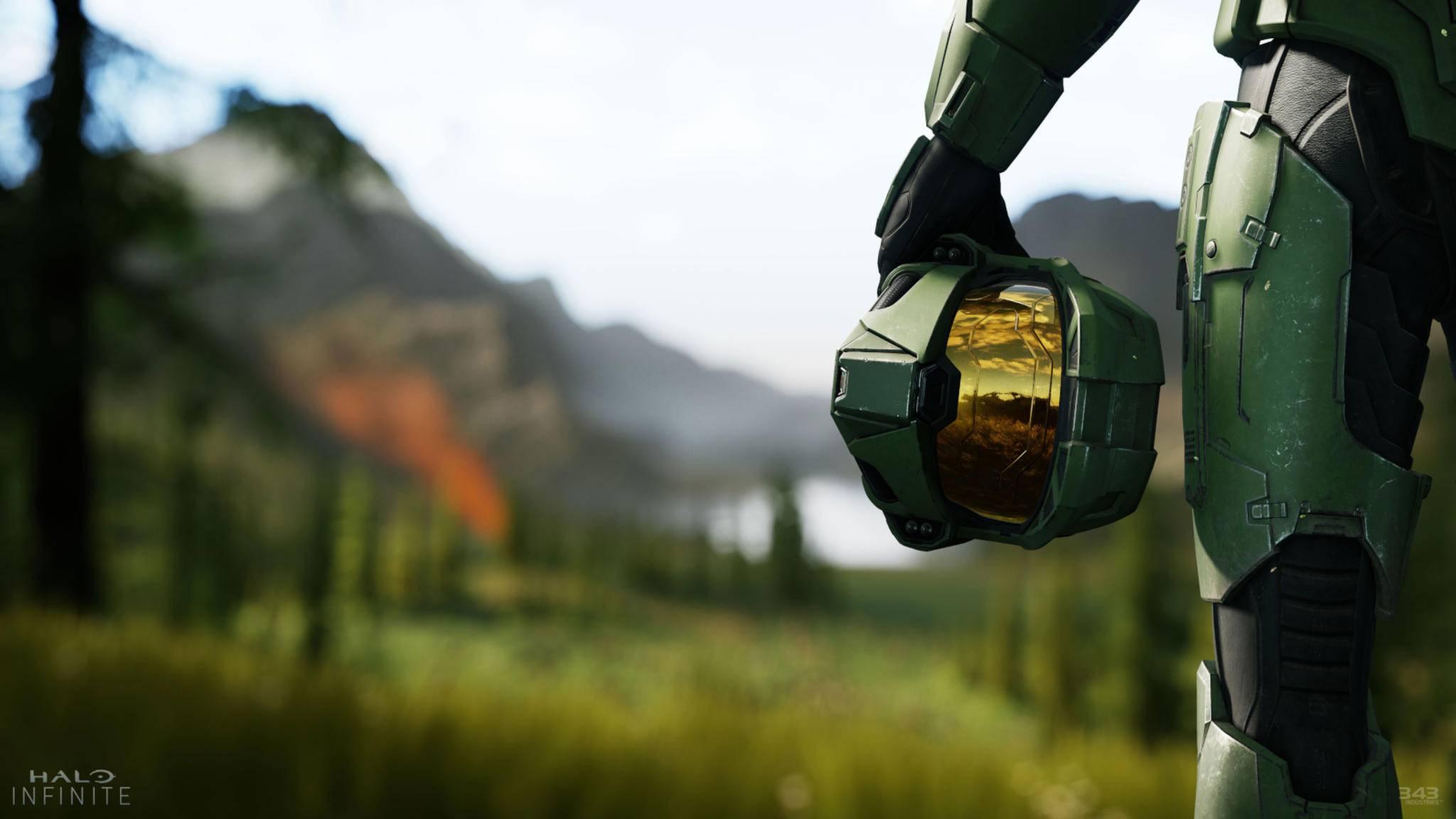 """Der Master Chief kehrt in """"Halo Infinite"""" zurück."""
