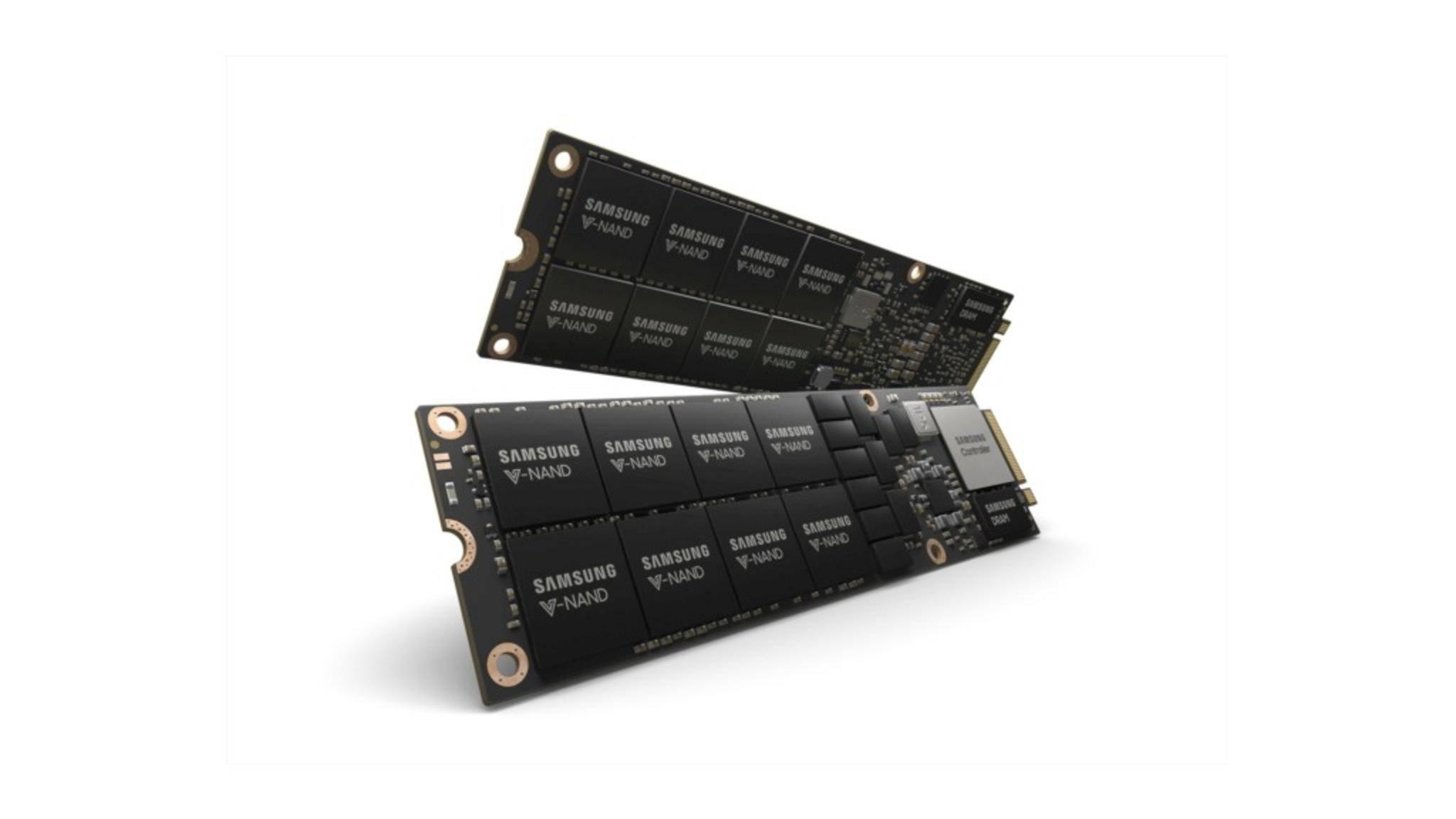 Samsungs 8-TB-SSD-Speicher stellt einen Speicherdichte-Rekord auf.