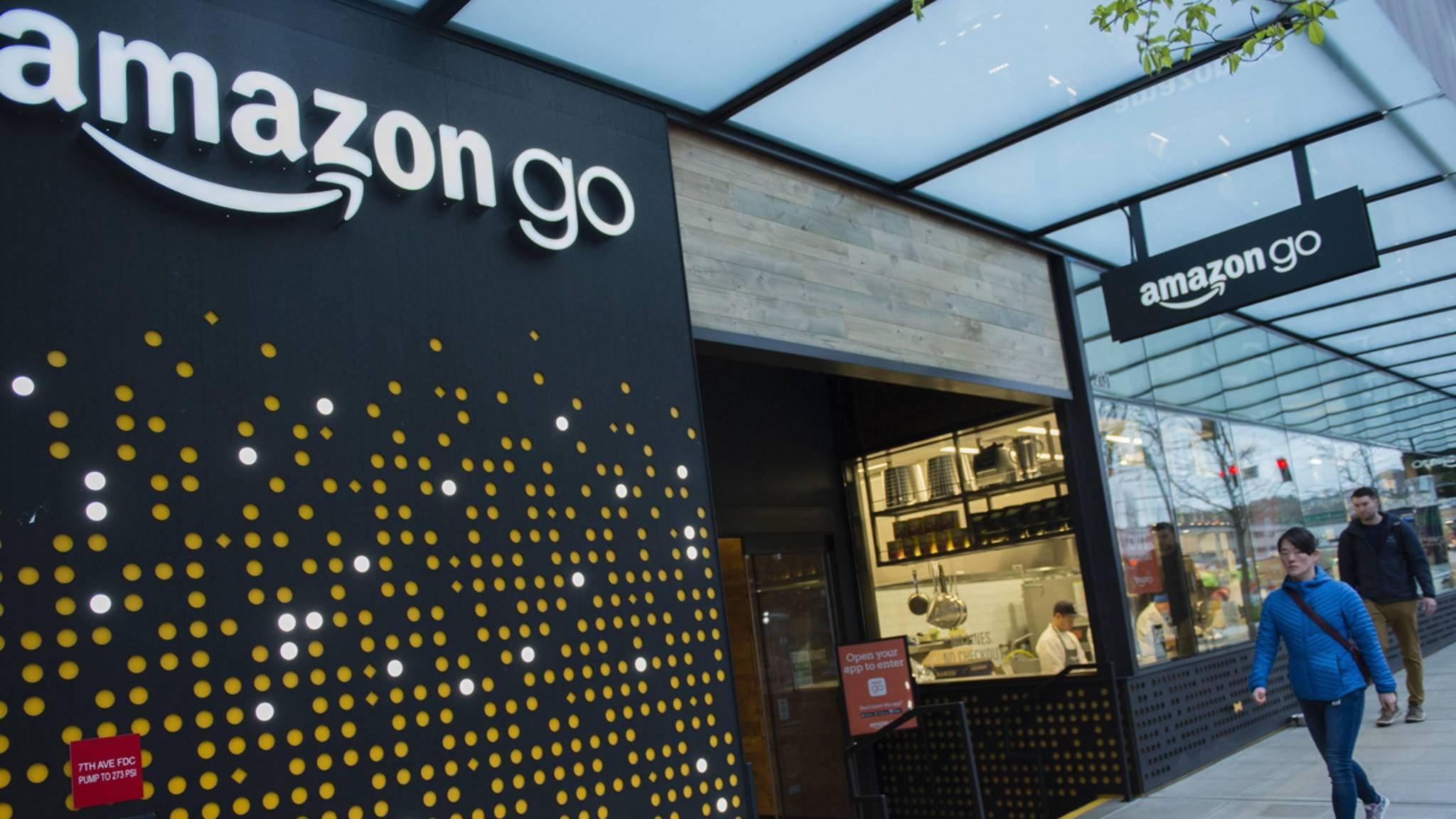 Auch Microsoft will Läden ohne Kassen nach dem Vorbild von Amazon Go etablieren.