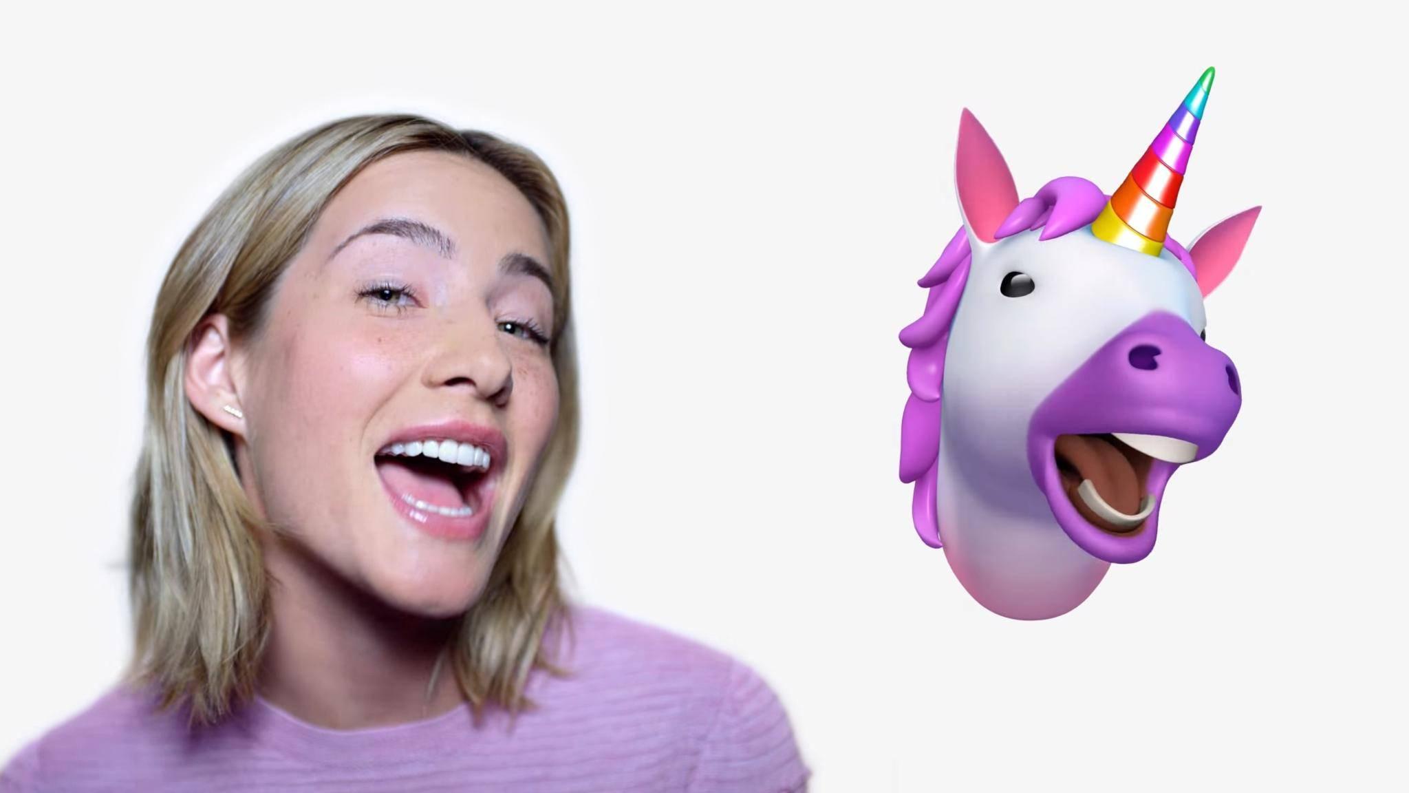 Ob wirklich vor allem erwachsene Frauen mit Animojis spielen, wie in der Apple-Werbung?
