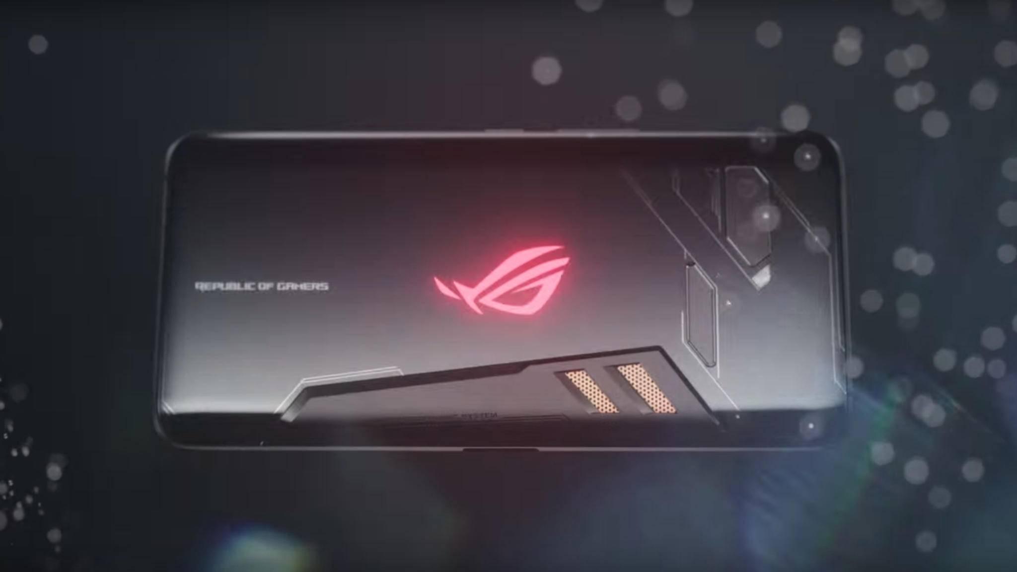 Der Nachfolger des Asus ROG Phone (im Bild) bekommt einen übertakteten Snapdragon 855.