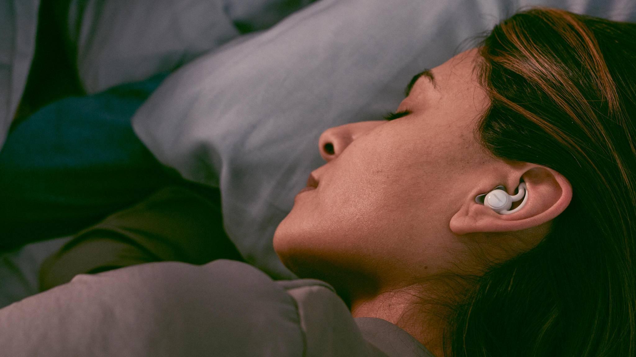 Dank der neuen Sleepbuds von Bose sollst Du in Zukunft besser schlafen können.