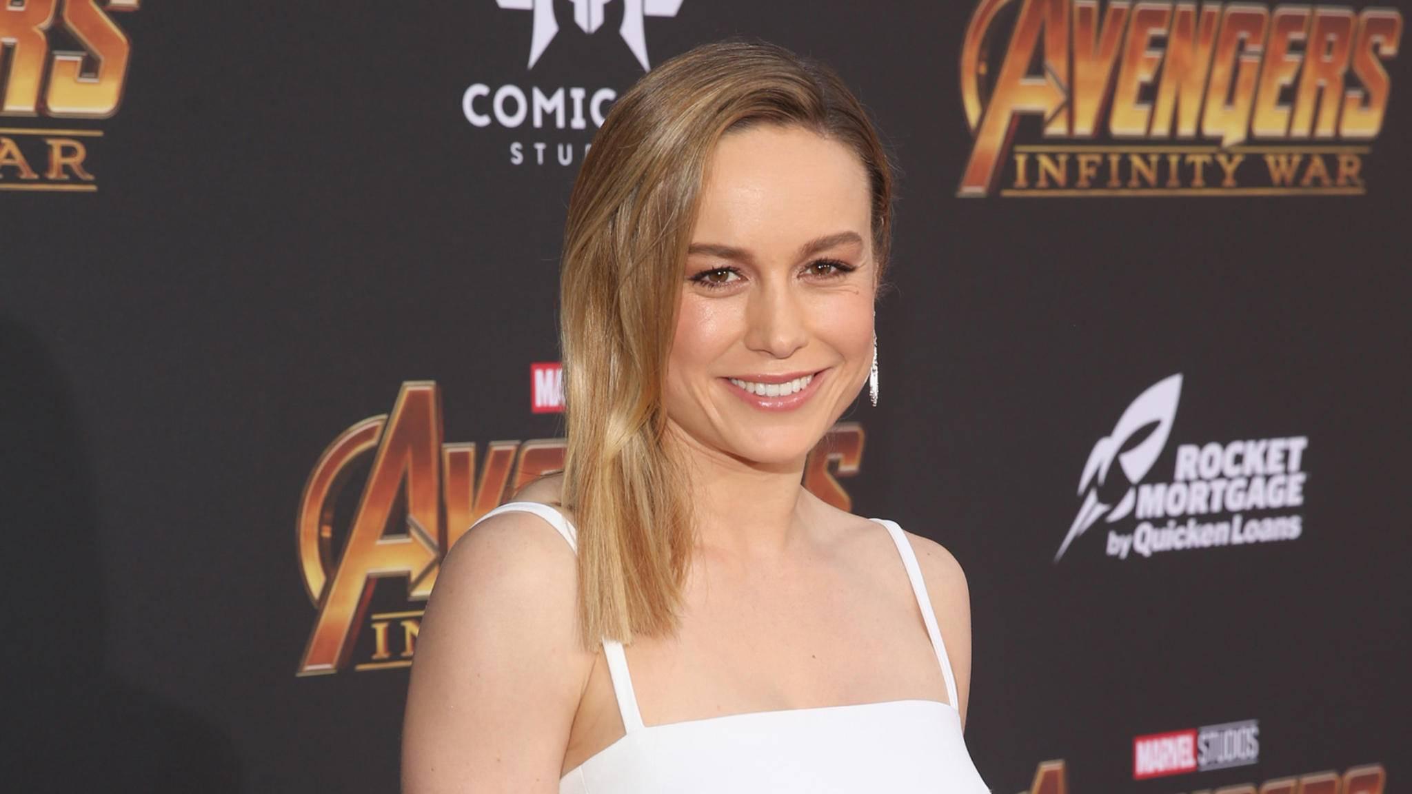 Sie soll die Zukunft des MCU sein: Captain-Marvel-Darstellerin Brie Larson.