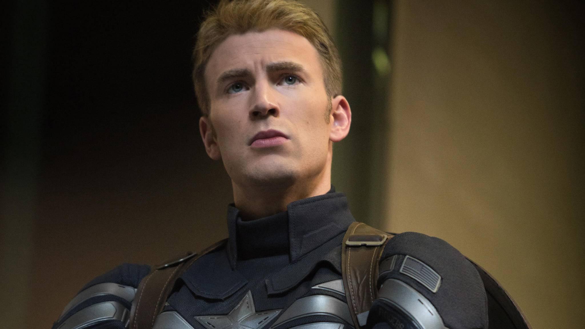 Einmal dürfen Fans Chris Evans noch als Captain America bewundern.