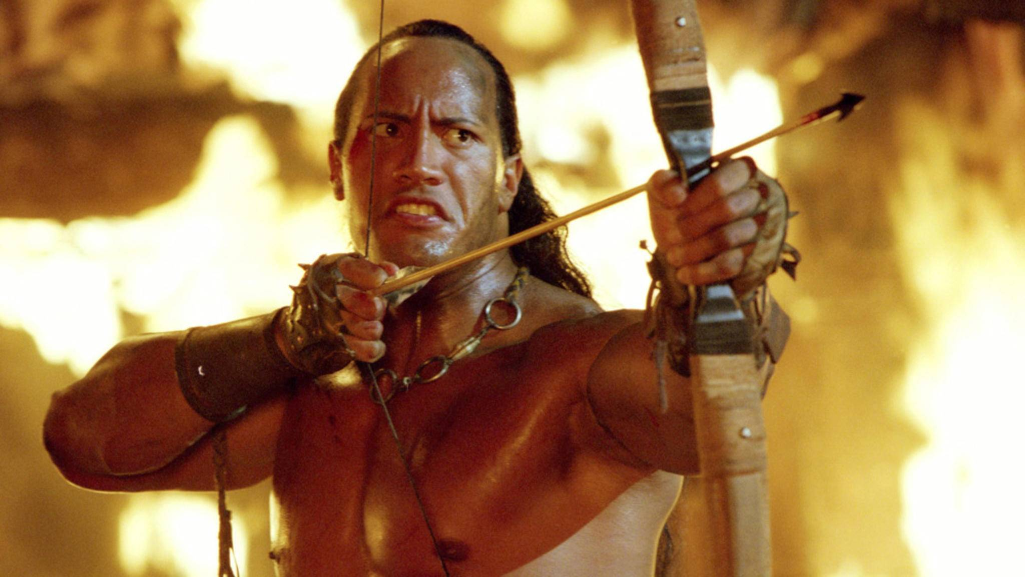 """Aller Anfang war schwer – auch für den heutigen Superstar Dwayne Johnson, der mit """"The Scorpion King"""" wahrlich keinen Volltreffer hinlegte."""