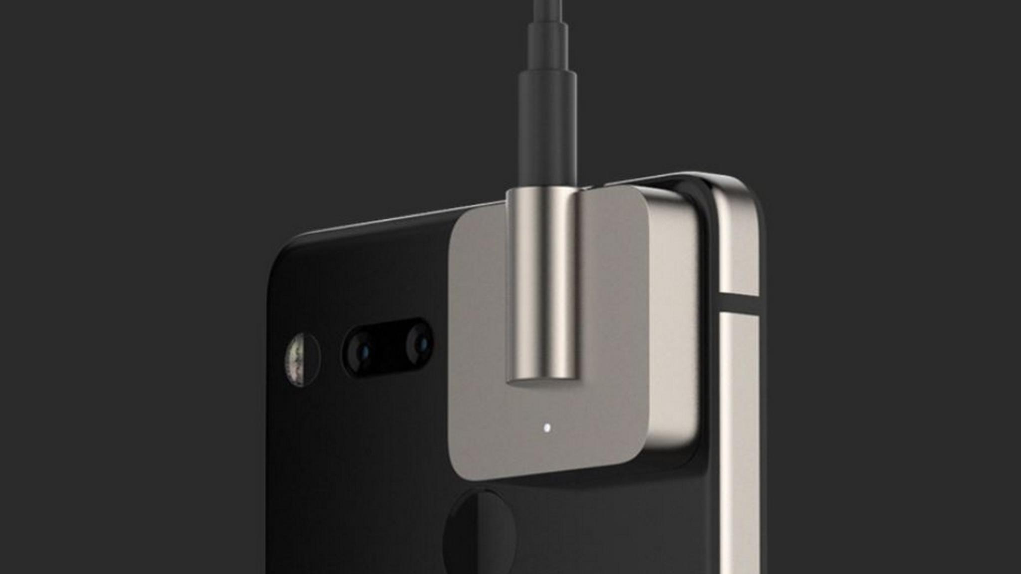Der Audio-Adapter HD für das Essential Phone.