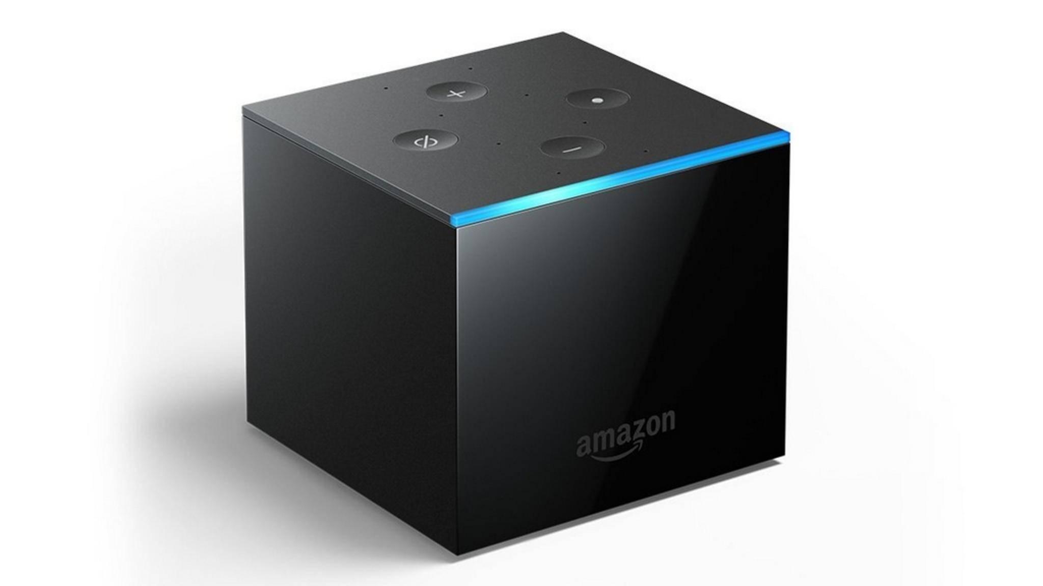 Der Fire TV Cube vereint Streaming-Box und Echo-Lautsprecher.