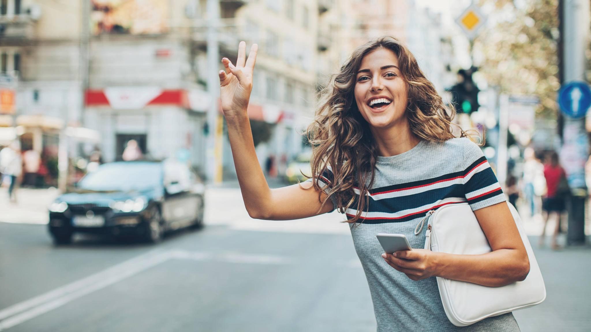 Mit der richtigen Taxi-App ist die nächste Fahrt nur wenige Klicks entfernt.