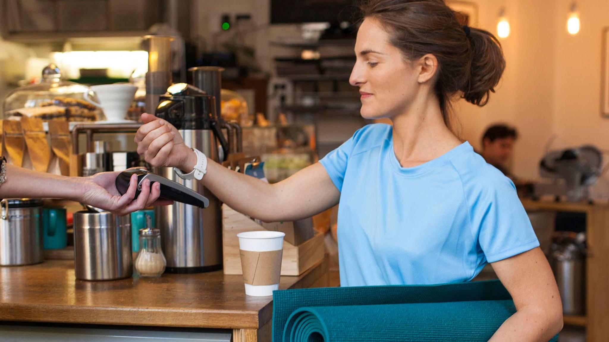Ab sofort können Garmin-Kunden auch in Deutschland kontaktlos bezahlen.