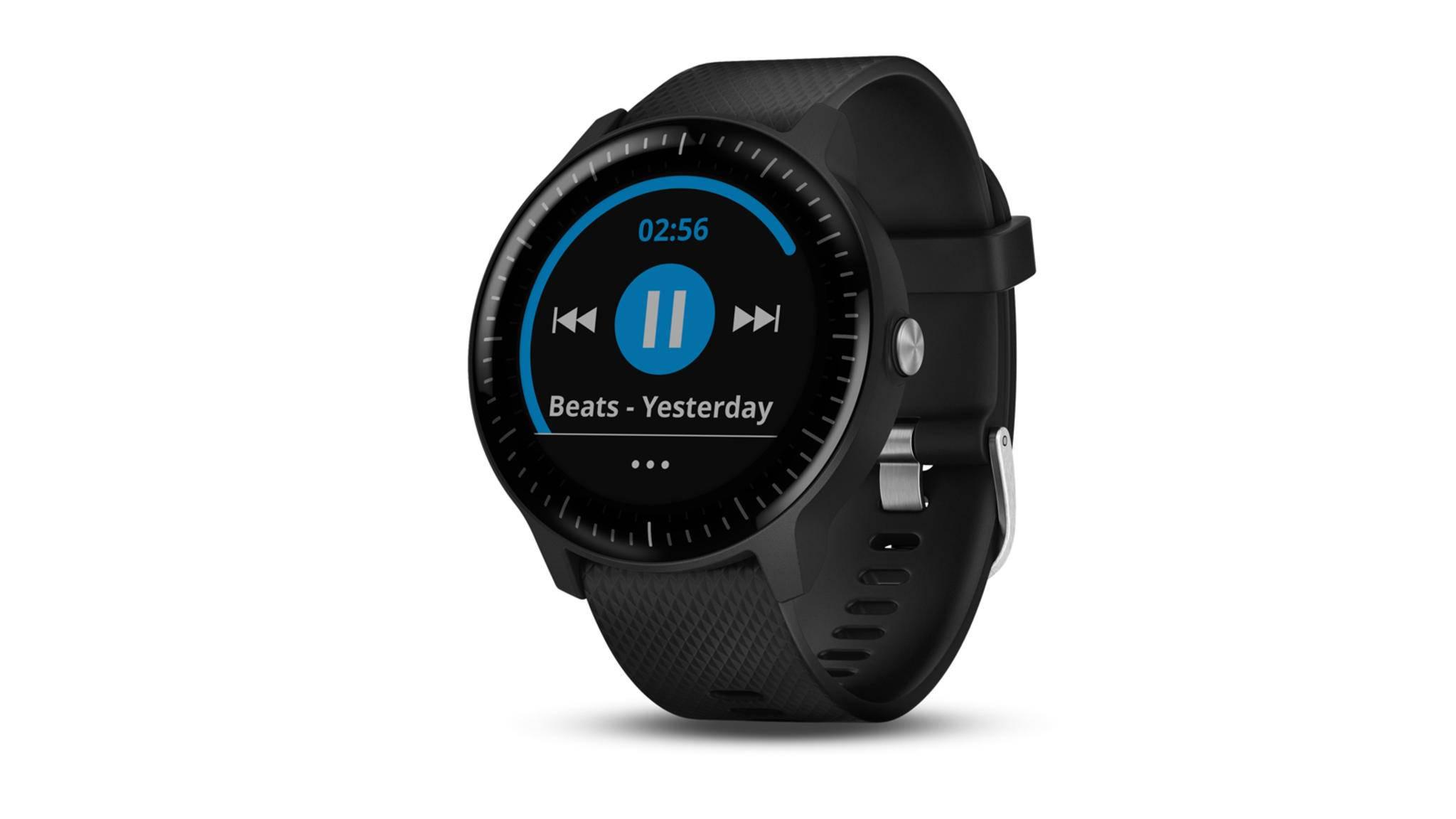 Ab sofort kannst Du Dir die Deezer-App auf Deine Garmin-Smartwatch laden.