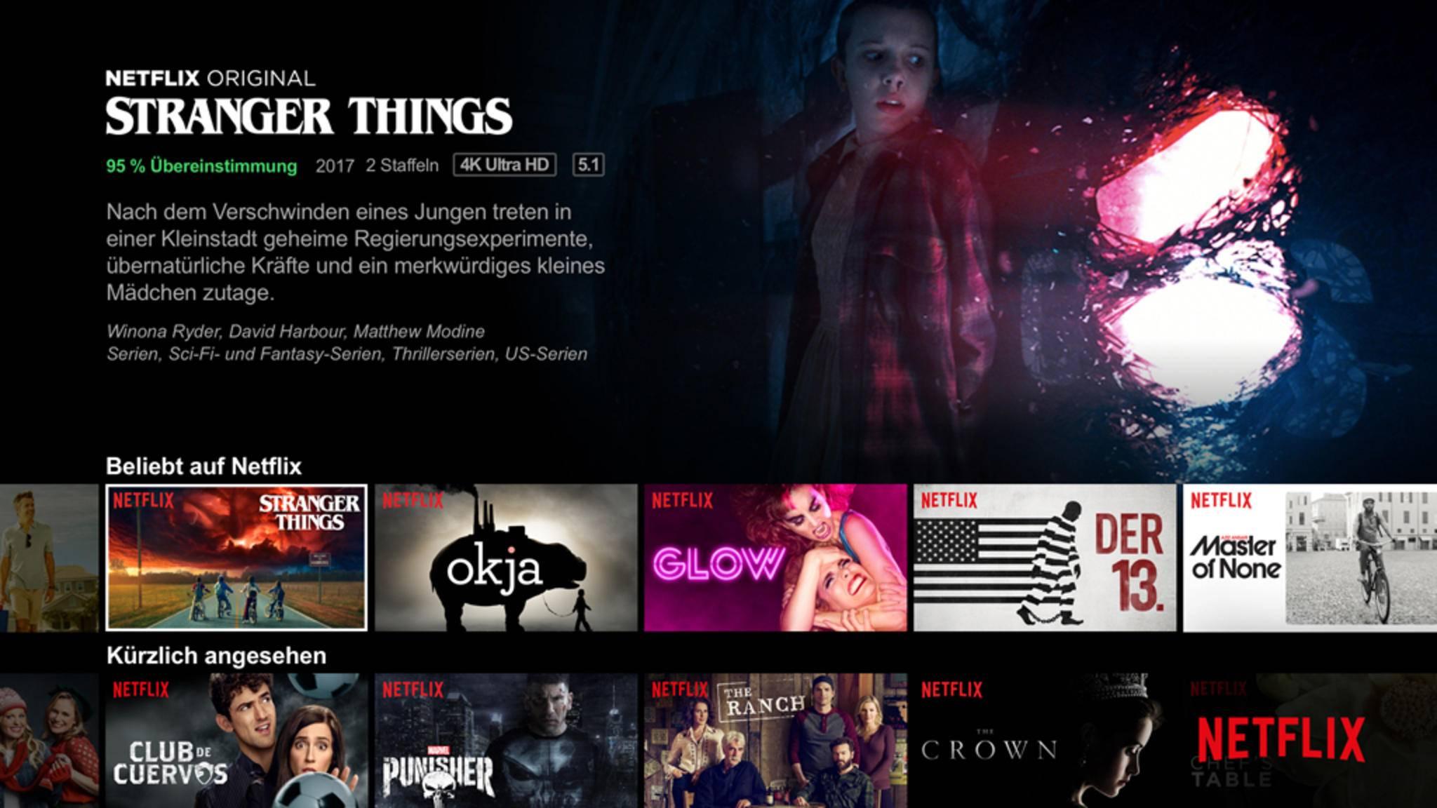 Du willst bei Netflix Dein Passwort ändern? Das ist leichter als gedacht.