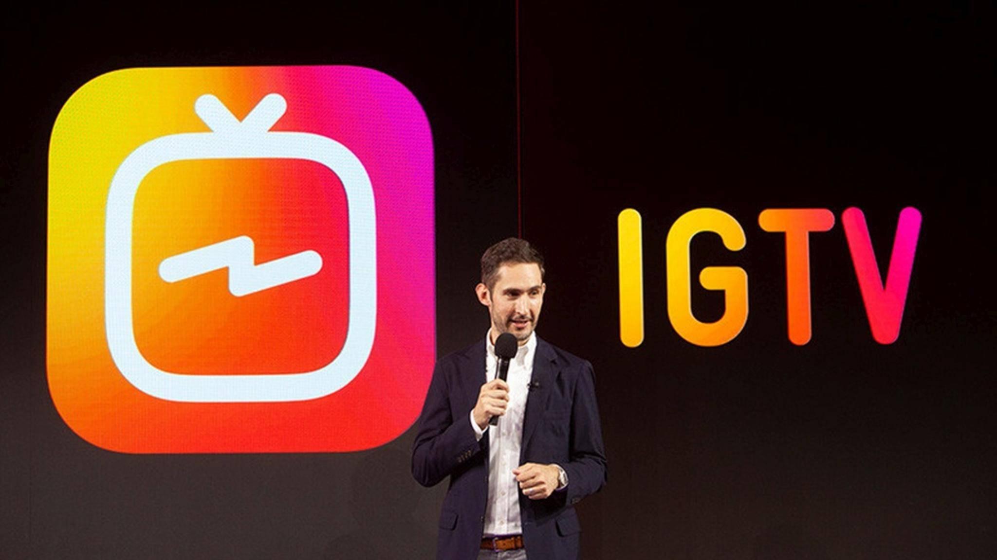 Instagrams IGTV ist jetzt als App für Android und iOS erhältlich.