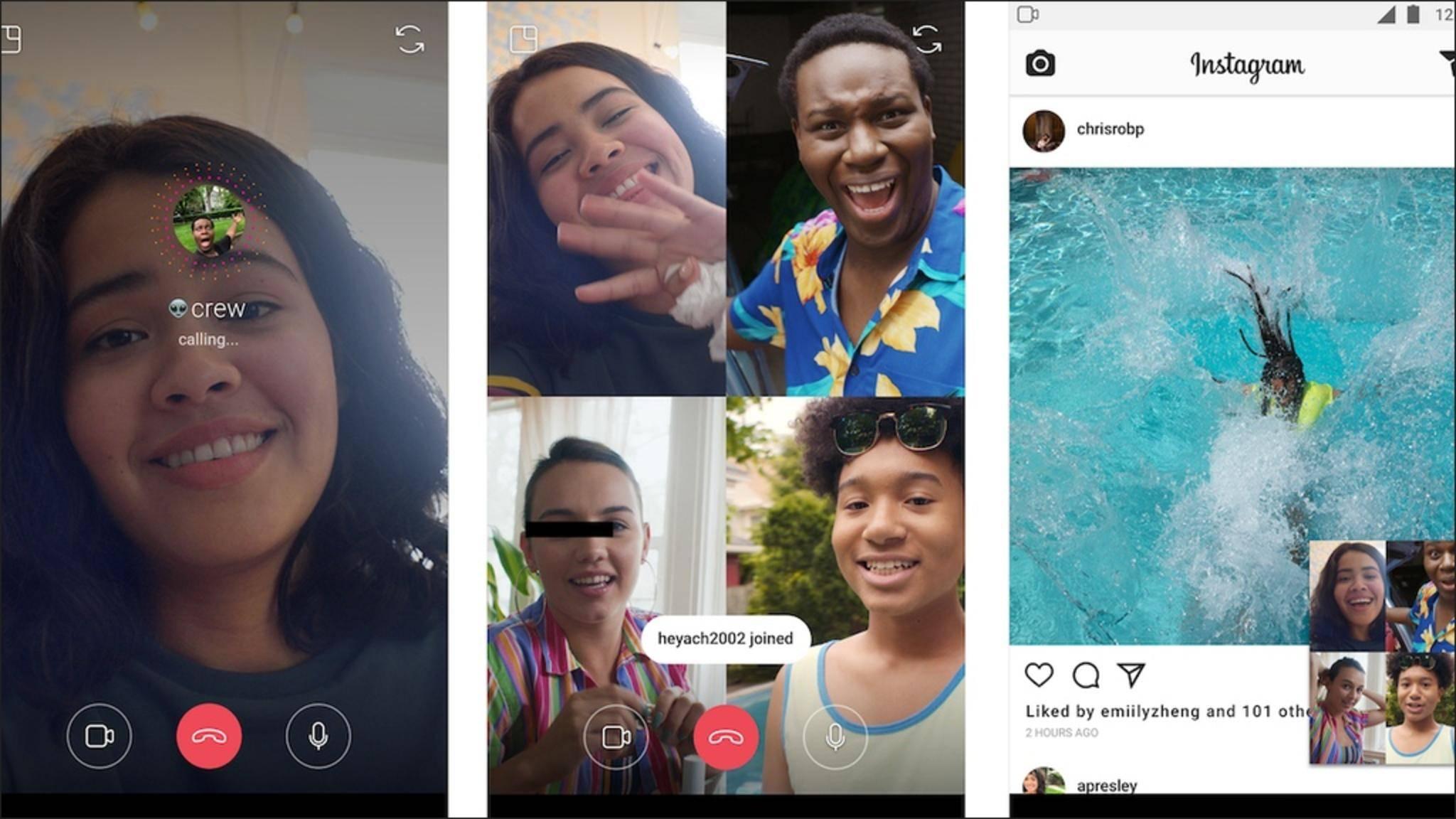 Die Videoqualität wird nun auch auf Instagram und Facebook reduziert.
