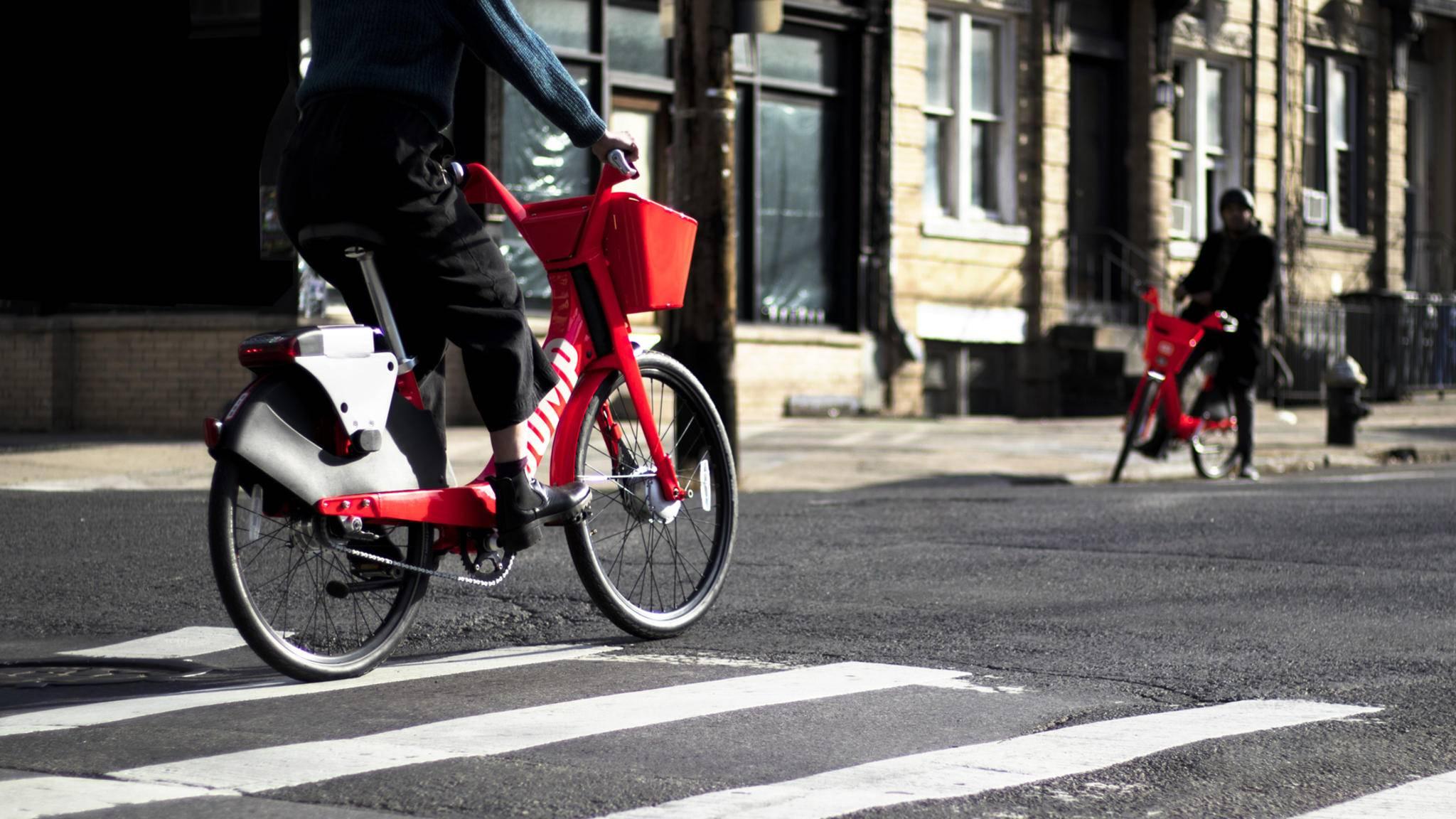 Bald düsen Ubers Jump-Bikes über Berliner Straßen.