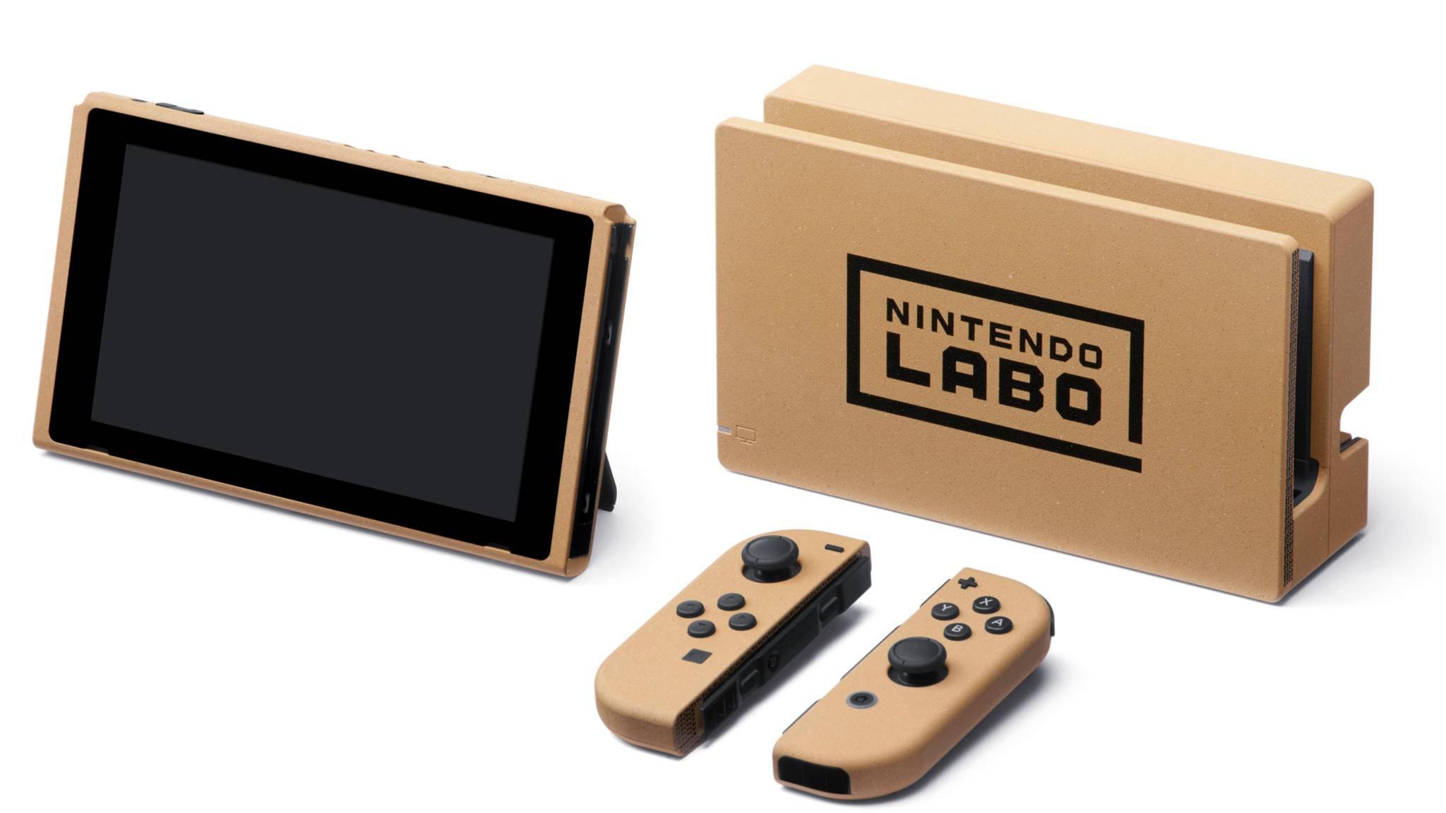 Ein Traum in Pappe: Dieses Sammlerstück kannst Du beim Nintendo Labo Contest gewinnen.