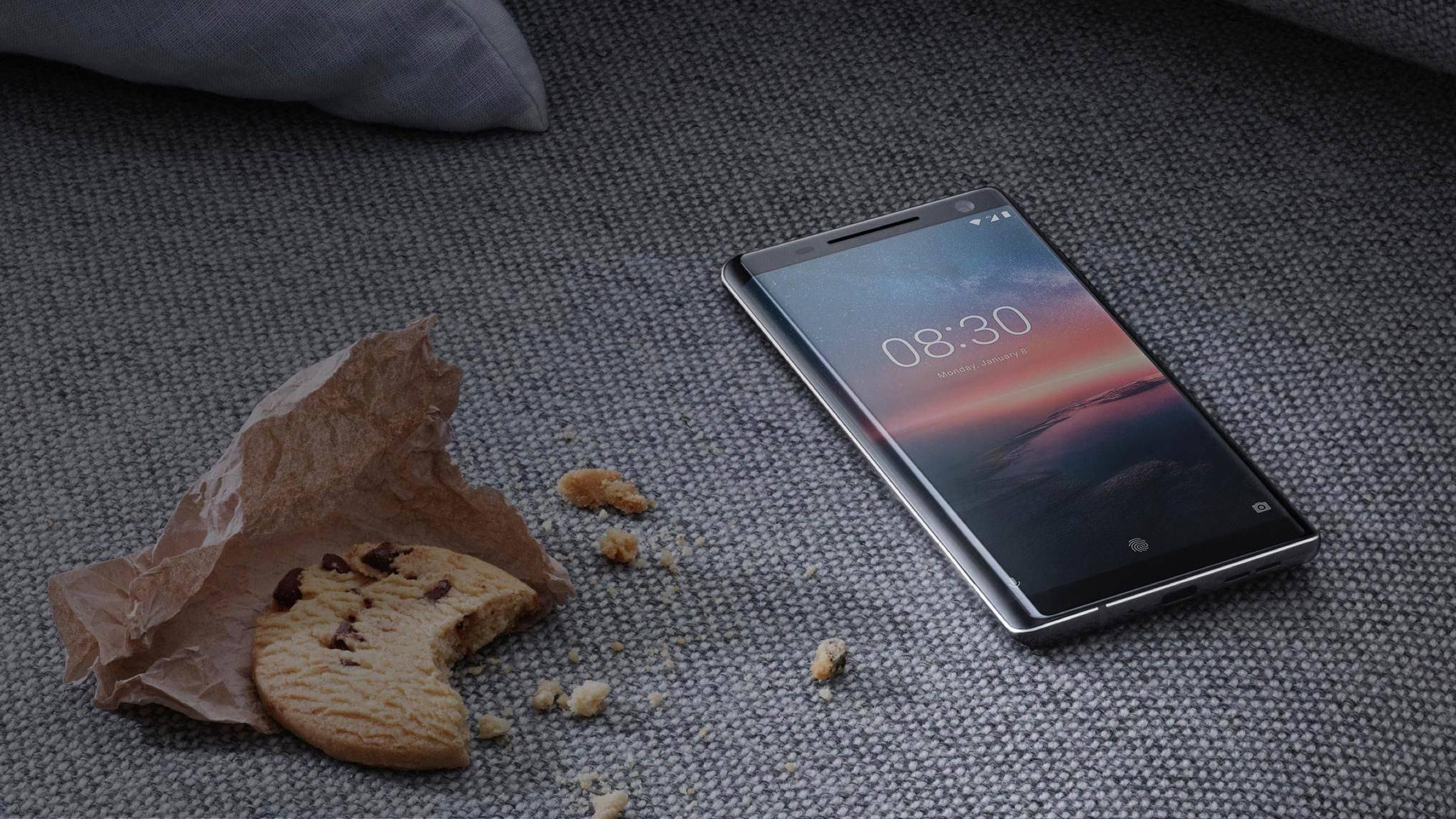 Das Nokia 8 Sirocco erhält wohl einen Nachfolger mit Fingerabdruckscanner unter dem Display.
