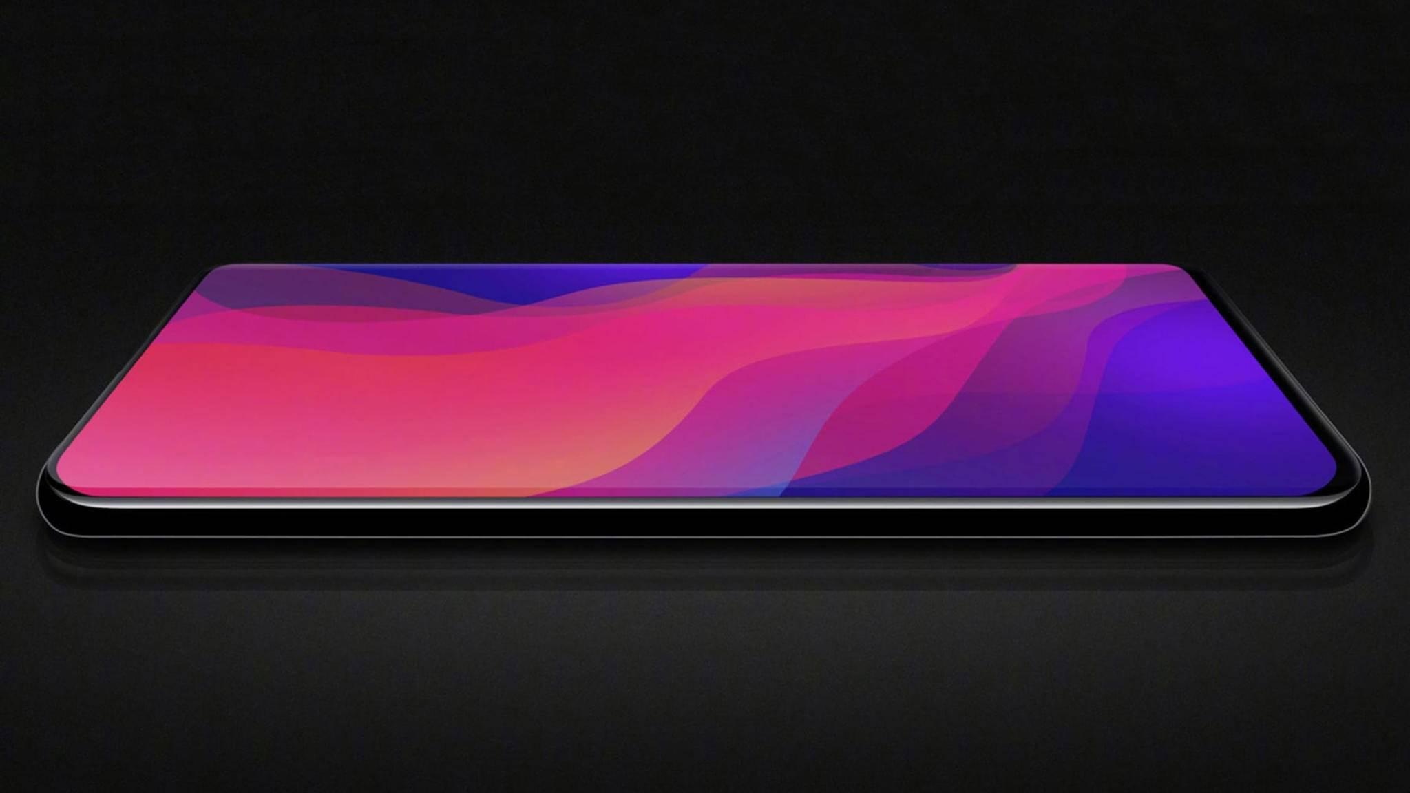 Das Oppo Find X hat aktuell (Stand Juni 2018) die beste Screen-to-Body-Ratio.