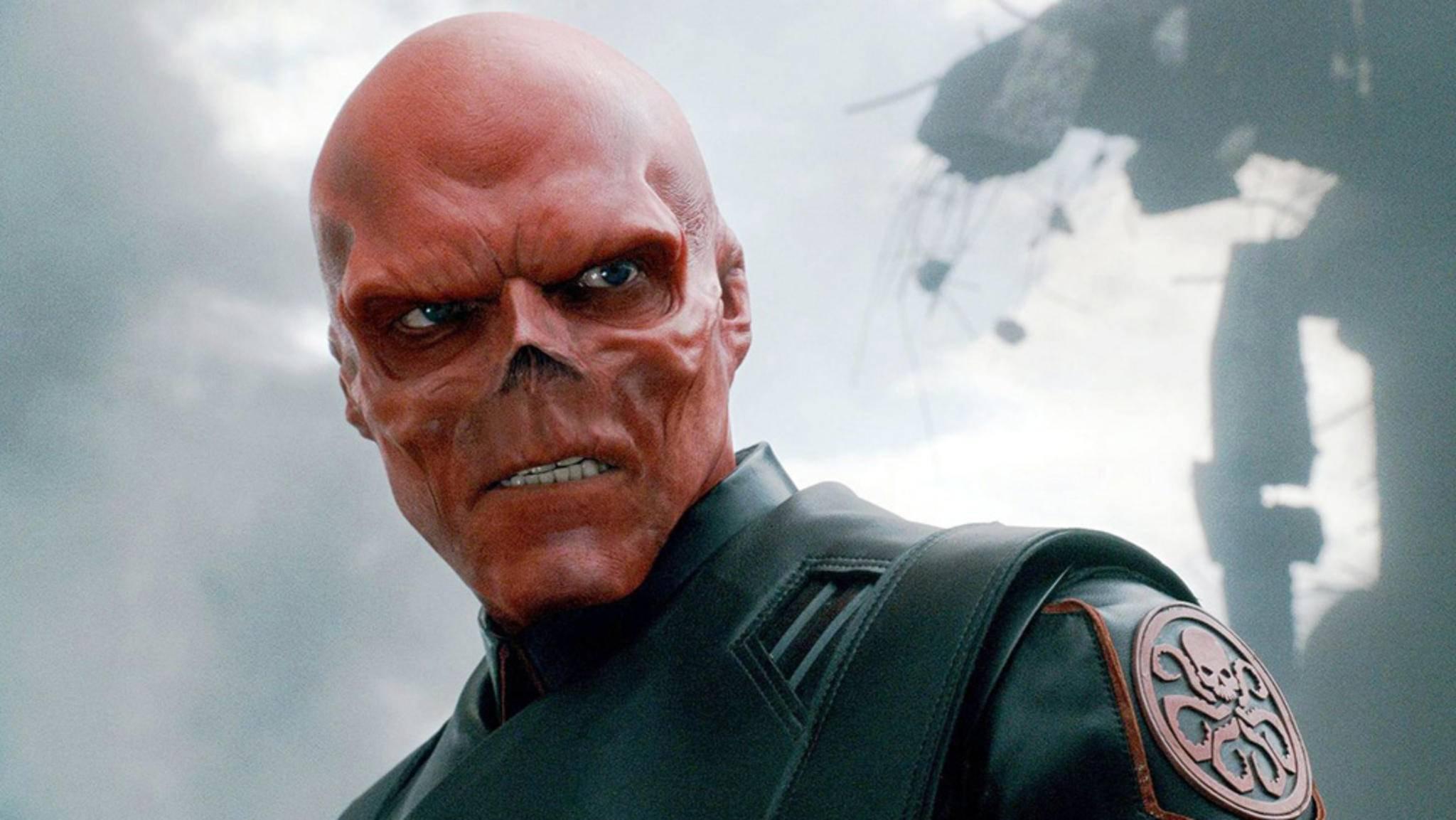 """Der Red Skull ist in """"Avengers: Infinity War"""" überraschend gut im Bilde dafür, dass er jahrelang auf einem abgelegenen Planeten fest saß."""